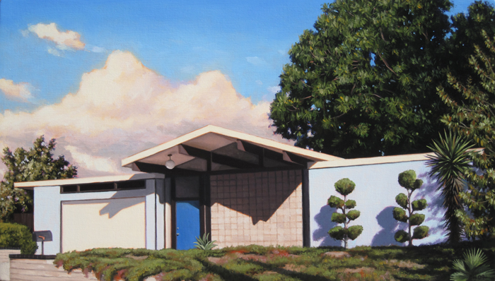 Blue Eichler With Clouds