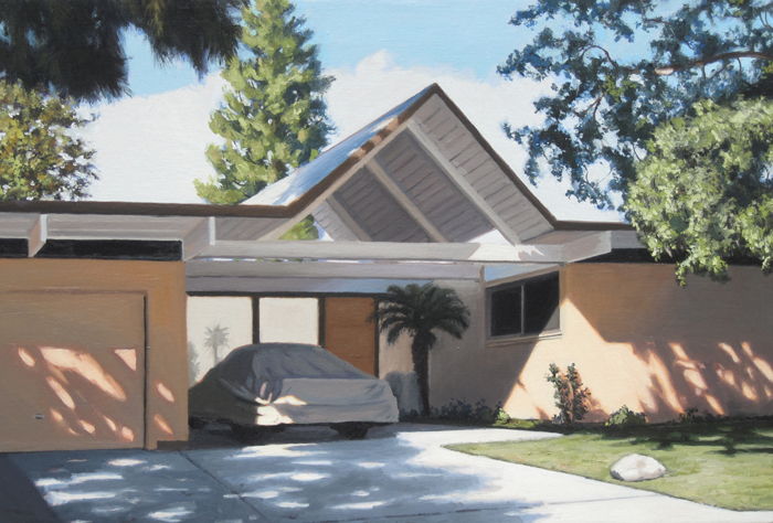 Eichler House With Covered Car