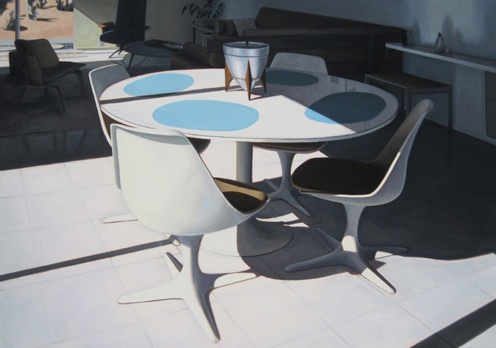 Modern Chairs Around Table