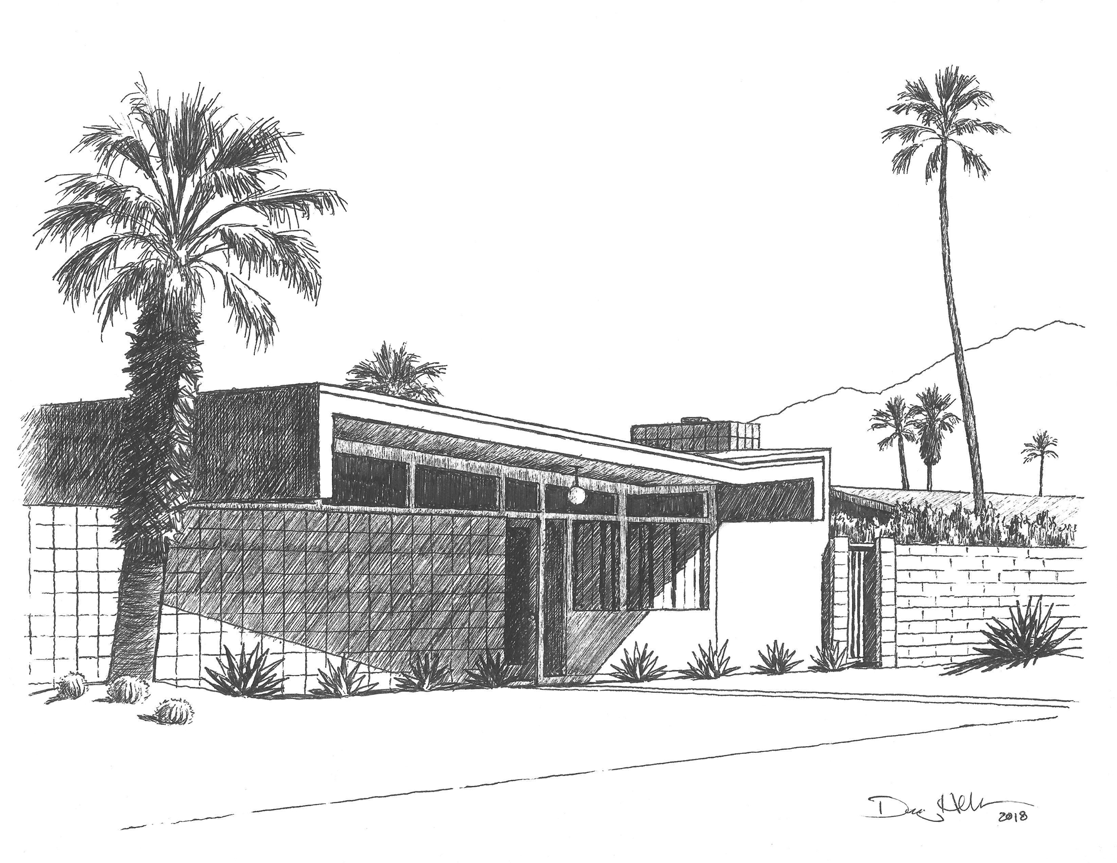 Wexler House Drawing