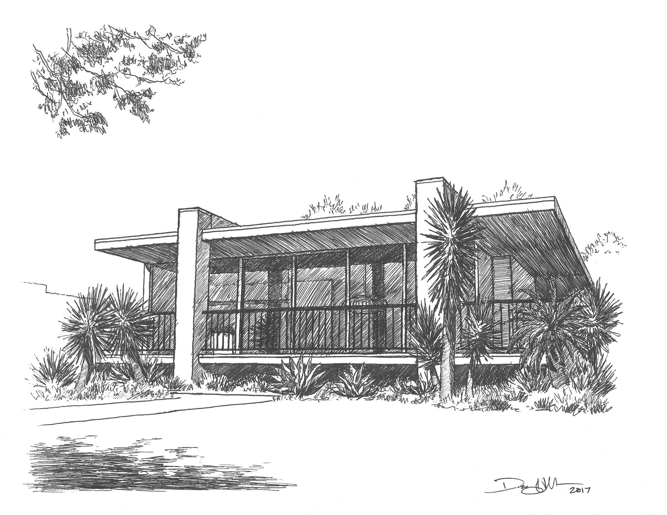 Long Beach Modern Drawing