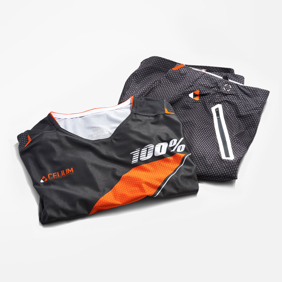 100% MTB gear design