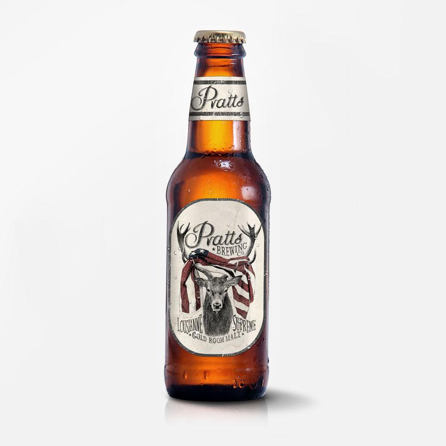 Pratts Brewery Branding
