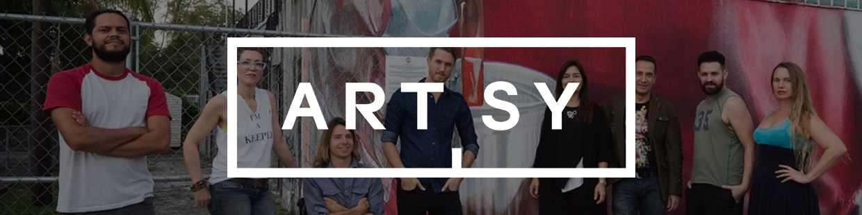 """""""The resident artists will exhibit at the Superfine Art Fair during Miami Art Week""""  -  Artsy , 11.27.16"""