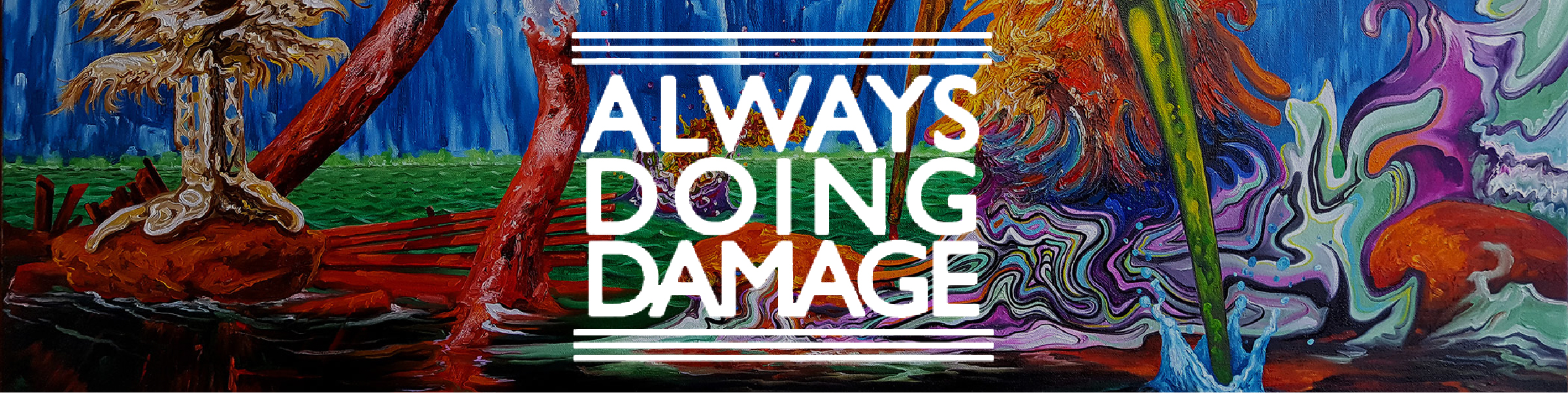 """""""This fair may cause a serious shift in how art dealings take place in the near future.""""   - Always Doing Damage, 5.24.17"""