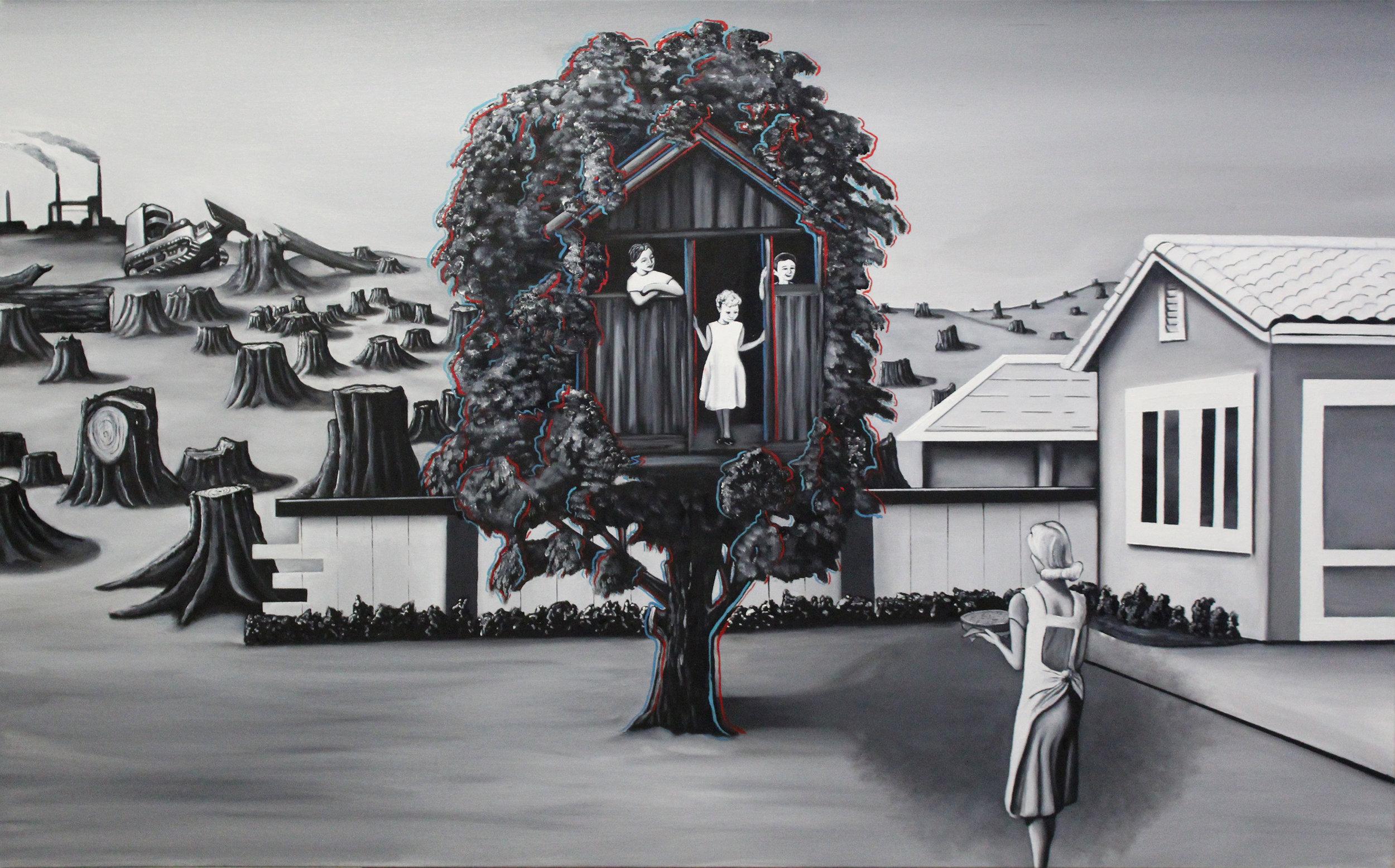 Don't Lose the Forest for the Fire, by Nico Aliguori (Aliguori Art)