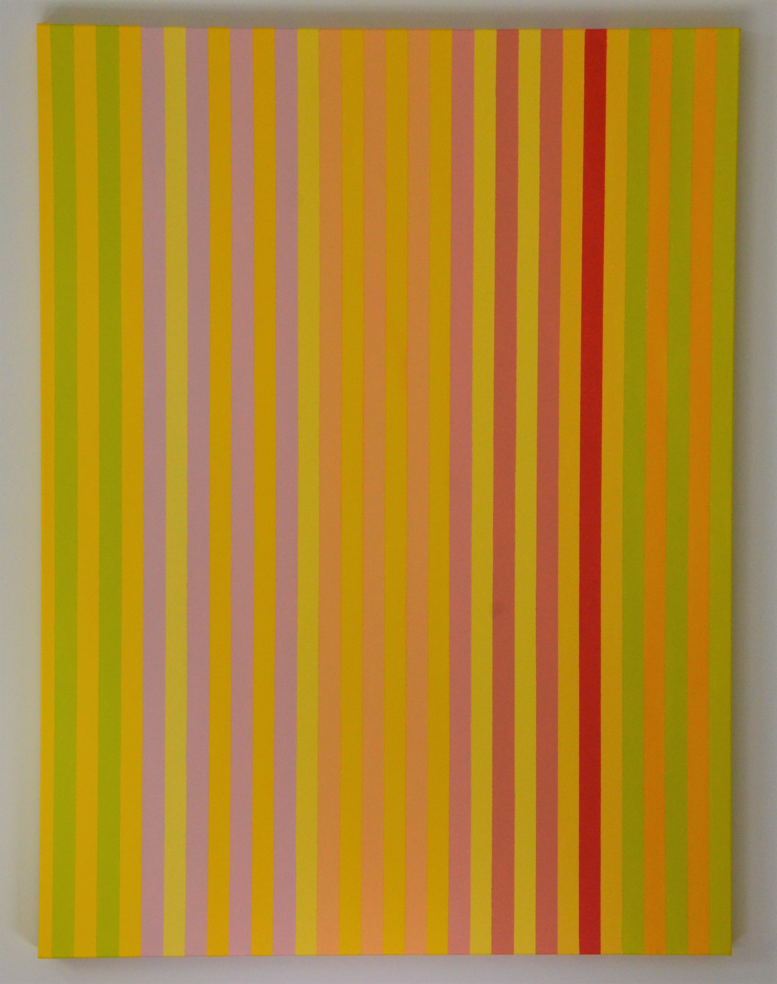 Christine Ruksenas-Burton Linear Equation #3, 30 X 40 Acrylic on canvas, 2018 $1,200 .JPG