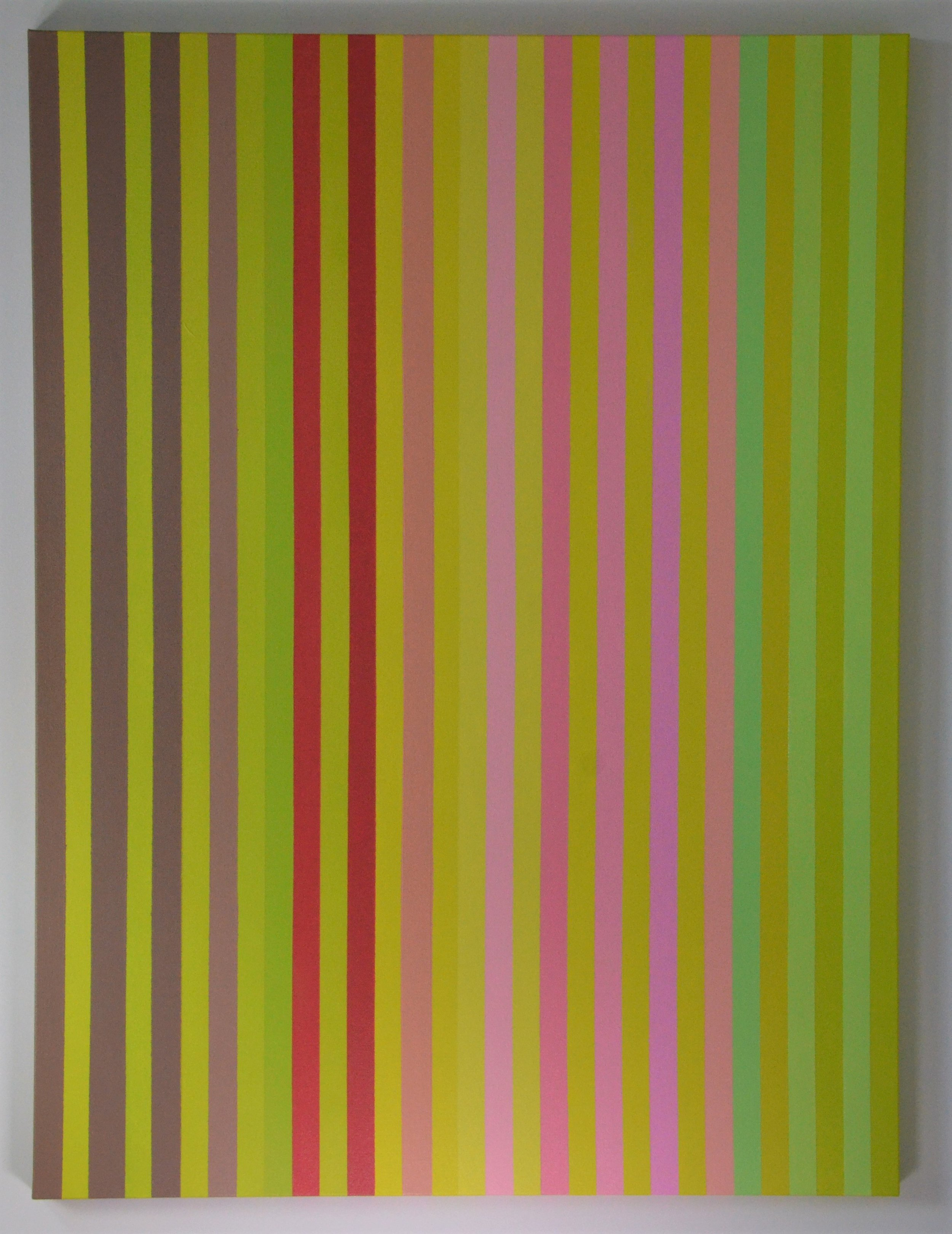 Christine Ruksenas-Burton Linear Equation #4, 30 X 40 Acrylic on canvas, 2018 $1,200 .JPG