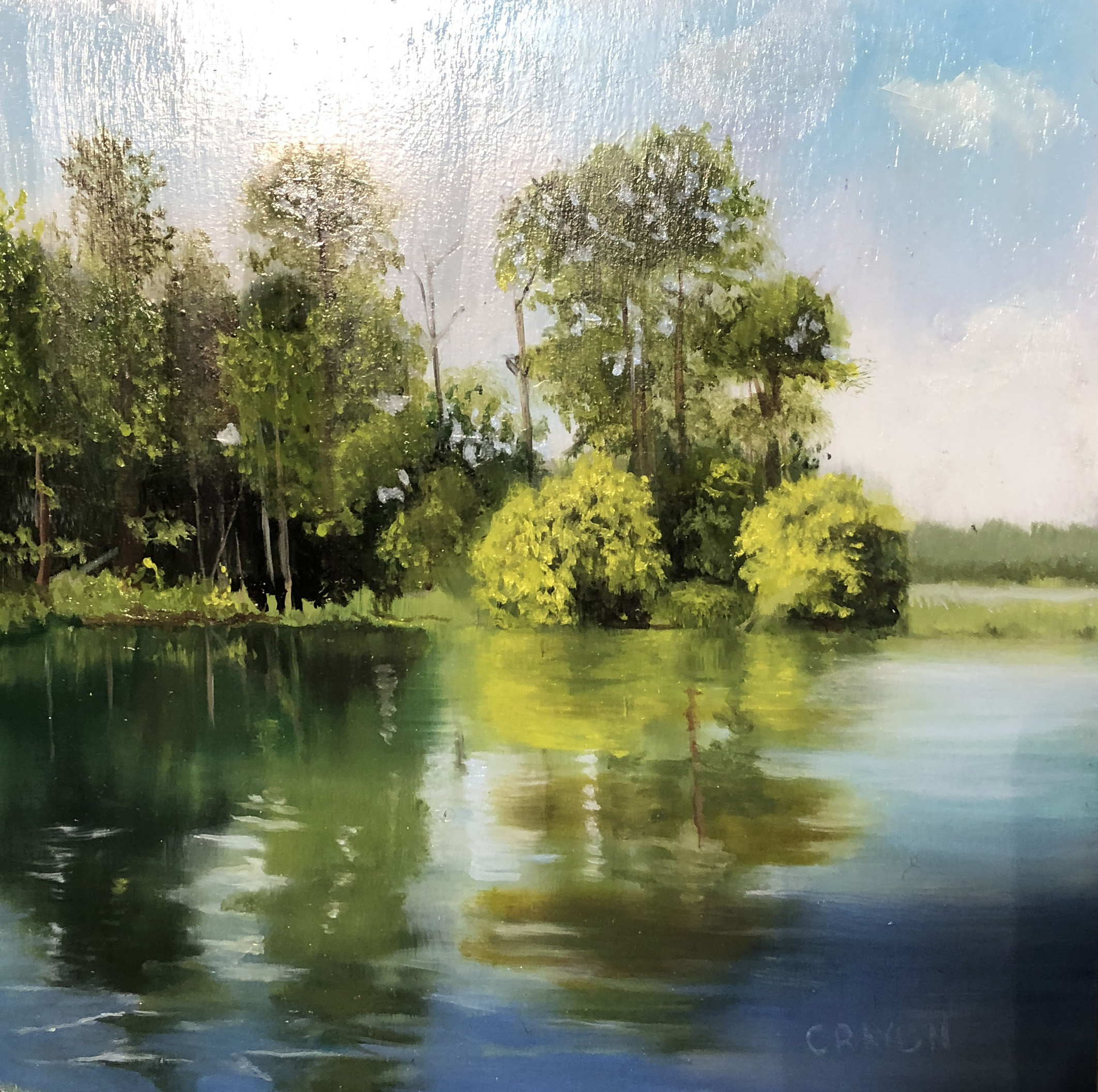 Dennis-Crayon-Green-Reflection-8x8-oil-on-Panel.jpg