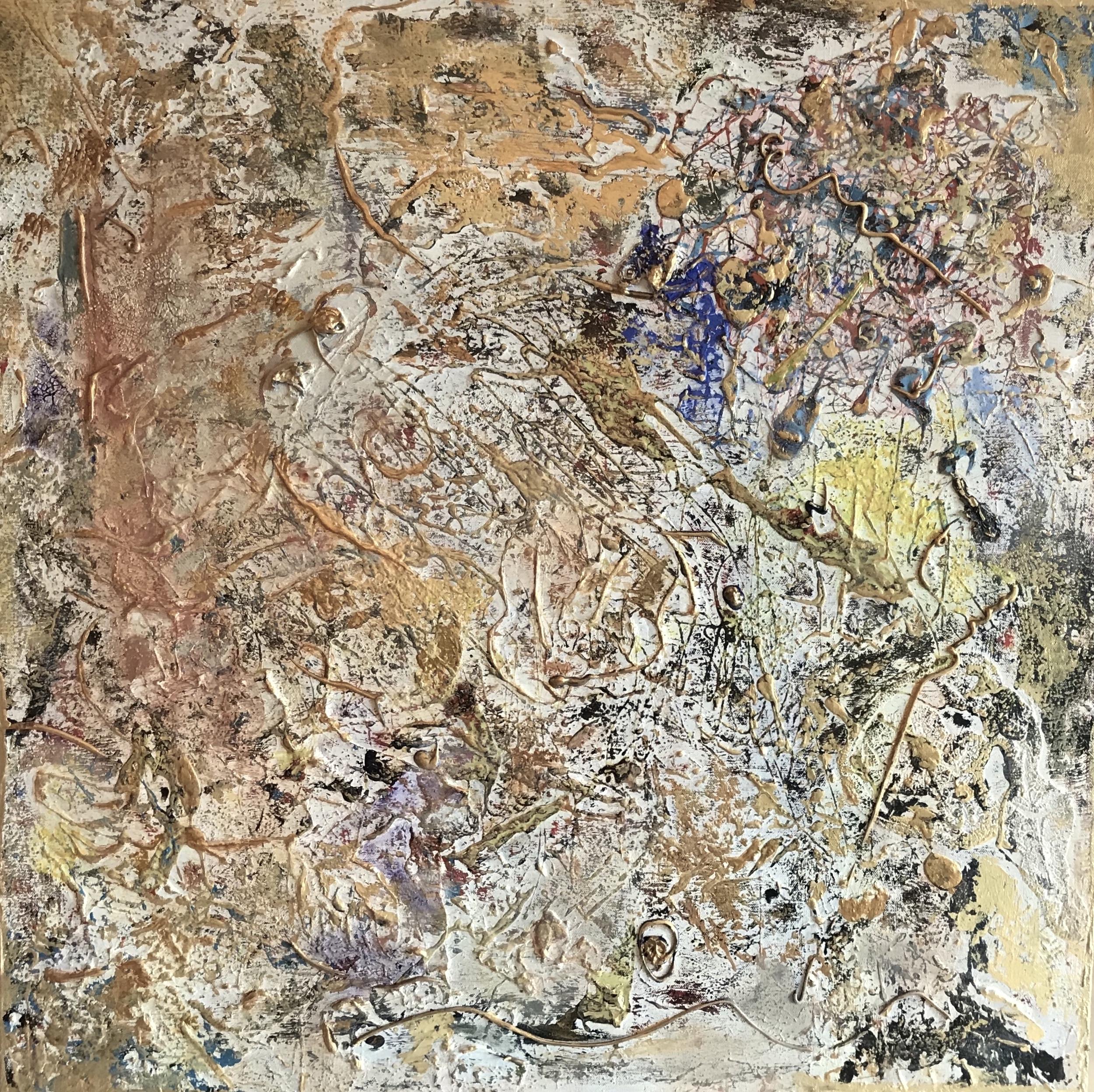 Sheila Cahill - _Life Moves_ - 32 x 32 - Acrylic on Canvas - $1200.JPG