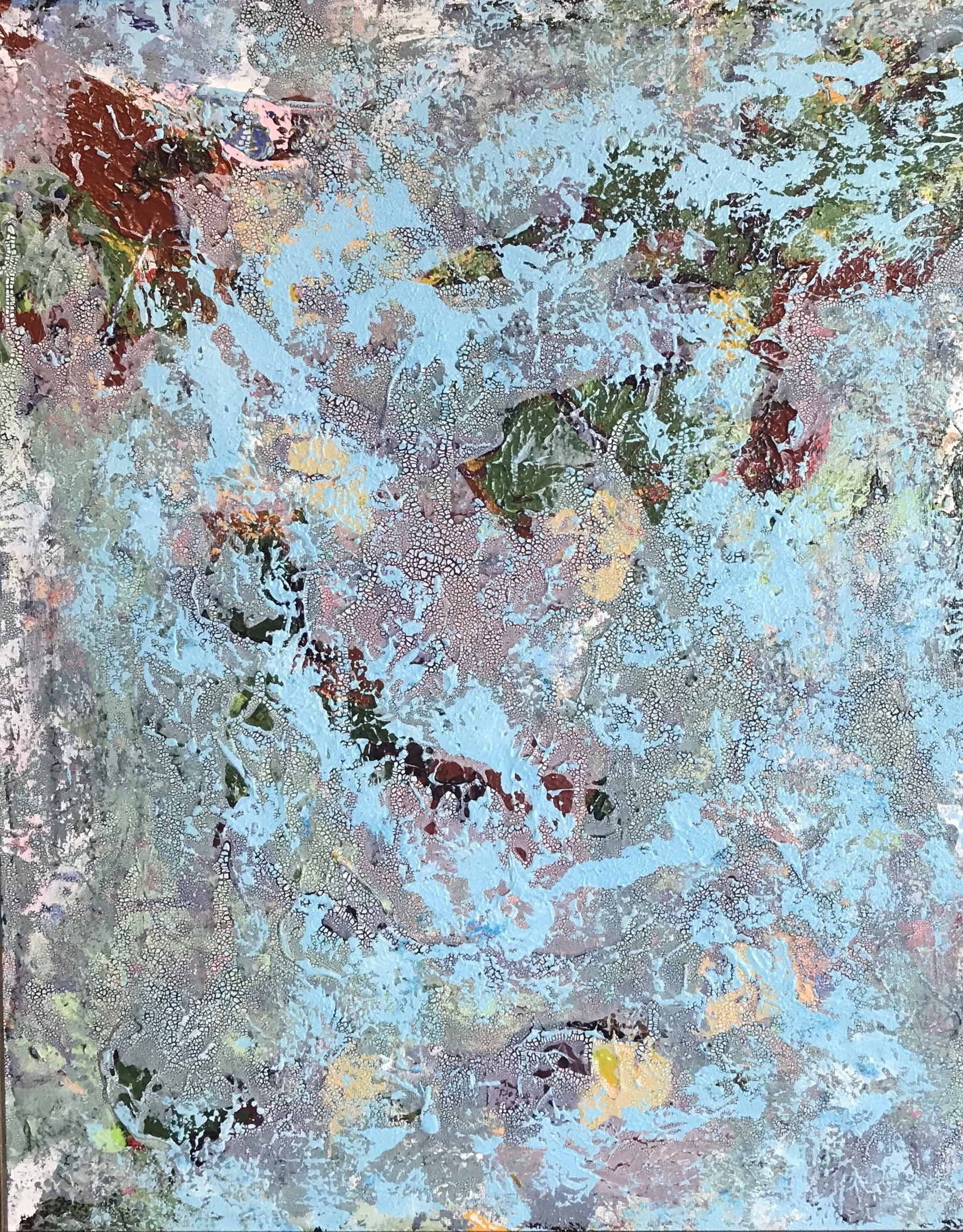 Sheila Cahill - _Palette Cleanser No. 3_ - 26 x 18 - Acrylic on canvas - 2018 - $325 .jpg