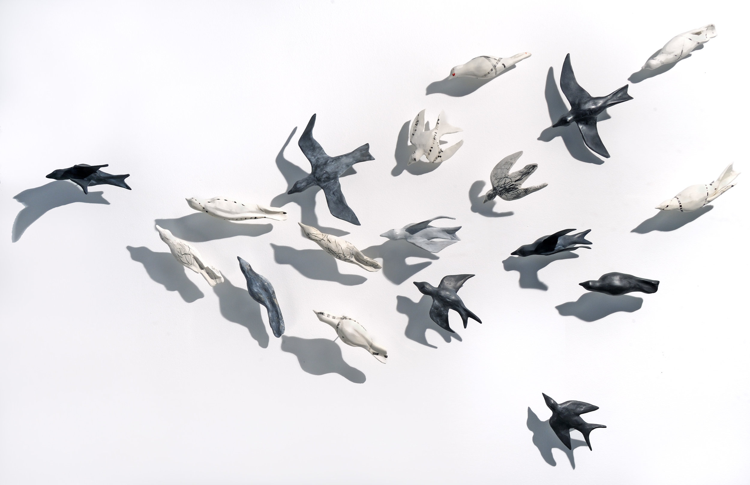 Hostetler_Mixed Migration Flock_2017_clay_3x5ft_$3,400.jpg