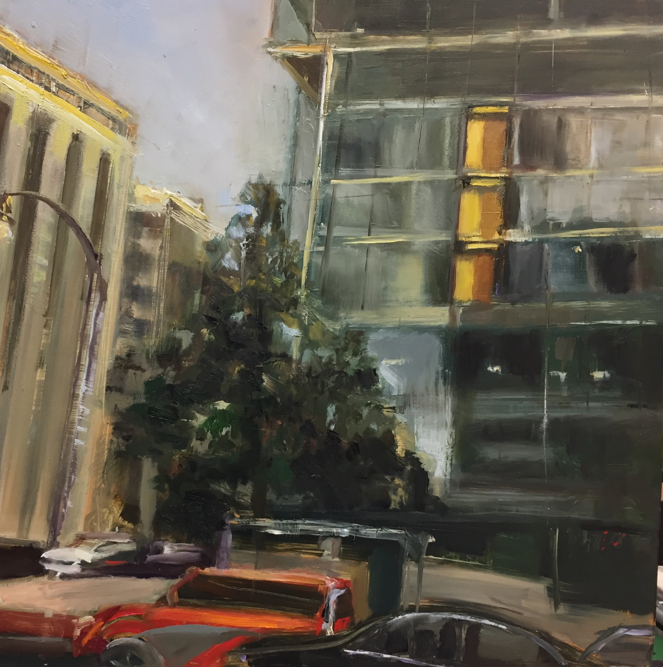 GalleryOonH-Cathy Abramson-K Street-2017-Oil on Canvas-12x12-600.jpg