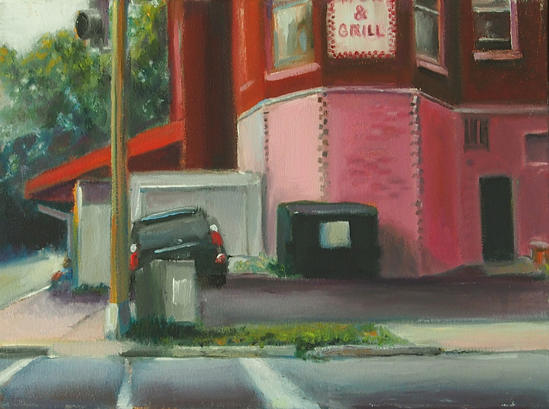 GalleryOonH-Cathy Abramson-Simon_s Wok and Grill-2016-Oil on Canvas-9x12-550.jpg