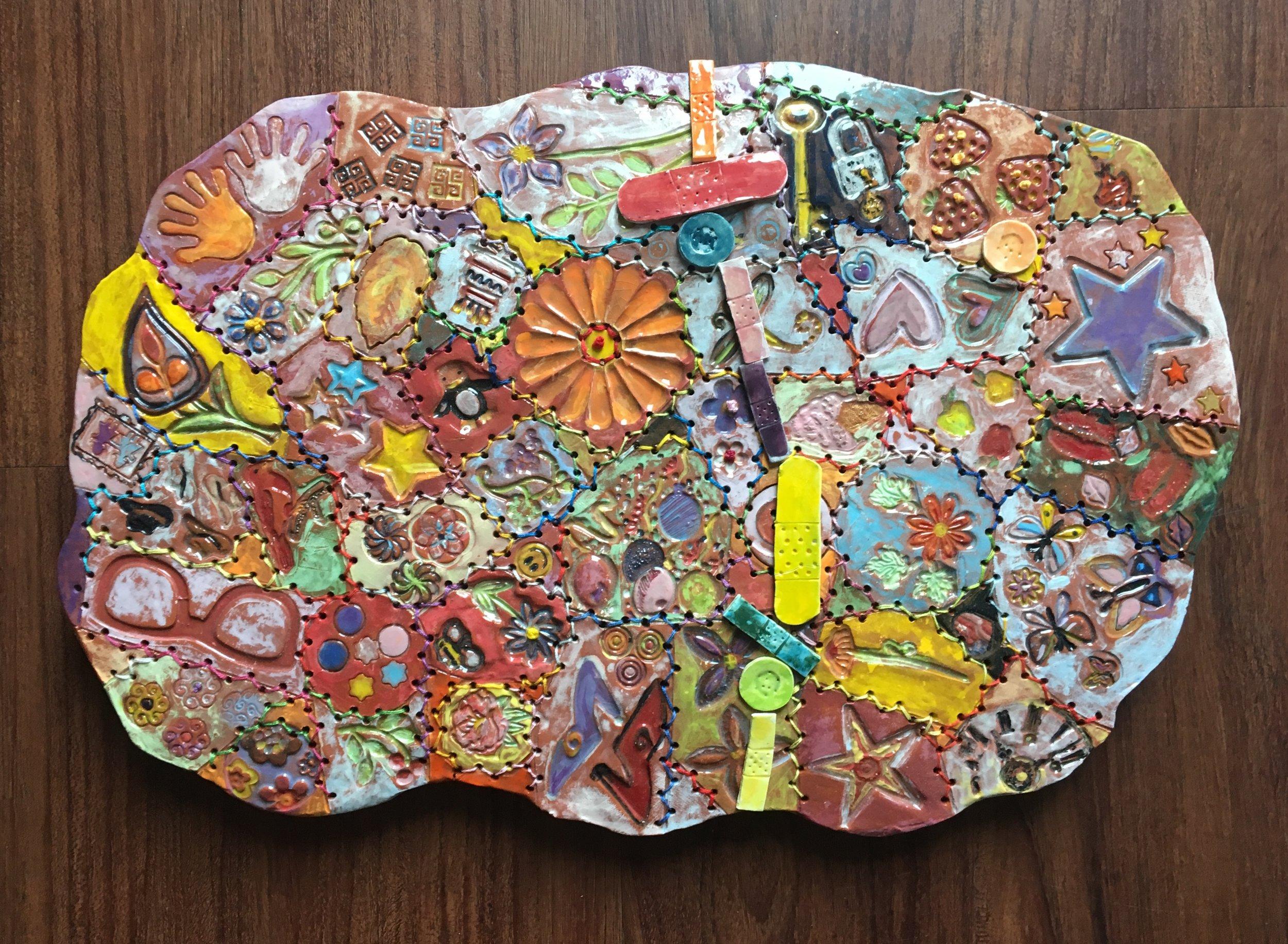 GalleryOonH-Kasse Andrews Weller-Mended Quilt-2018-Ceramic-11x16-450.jpg
