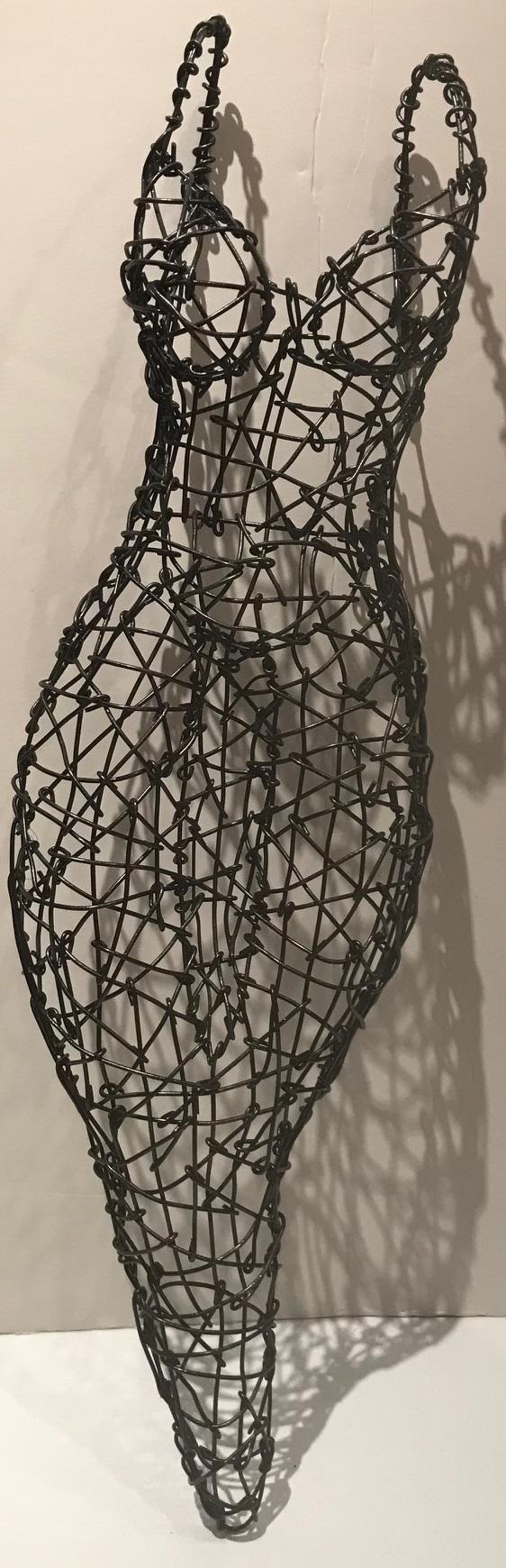 Zenith Gallery- Kristine Mays- Impermanence- 2017 -wire-21h x 5w x 3d - $600.jpg