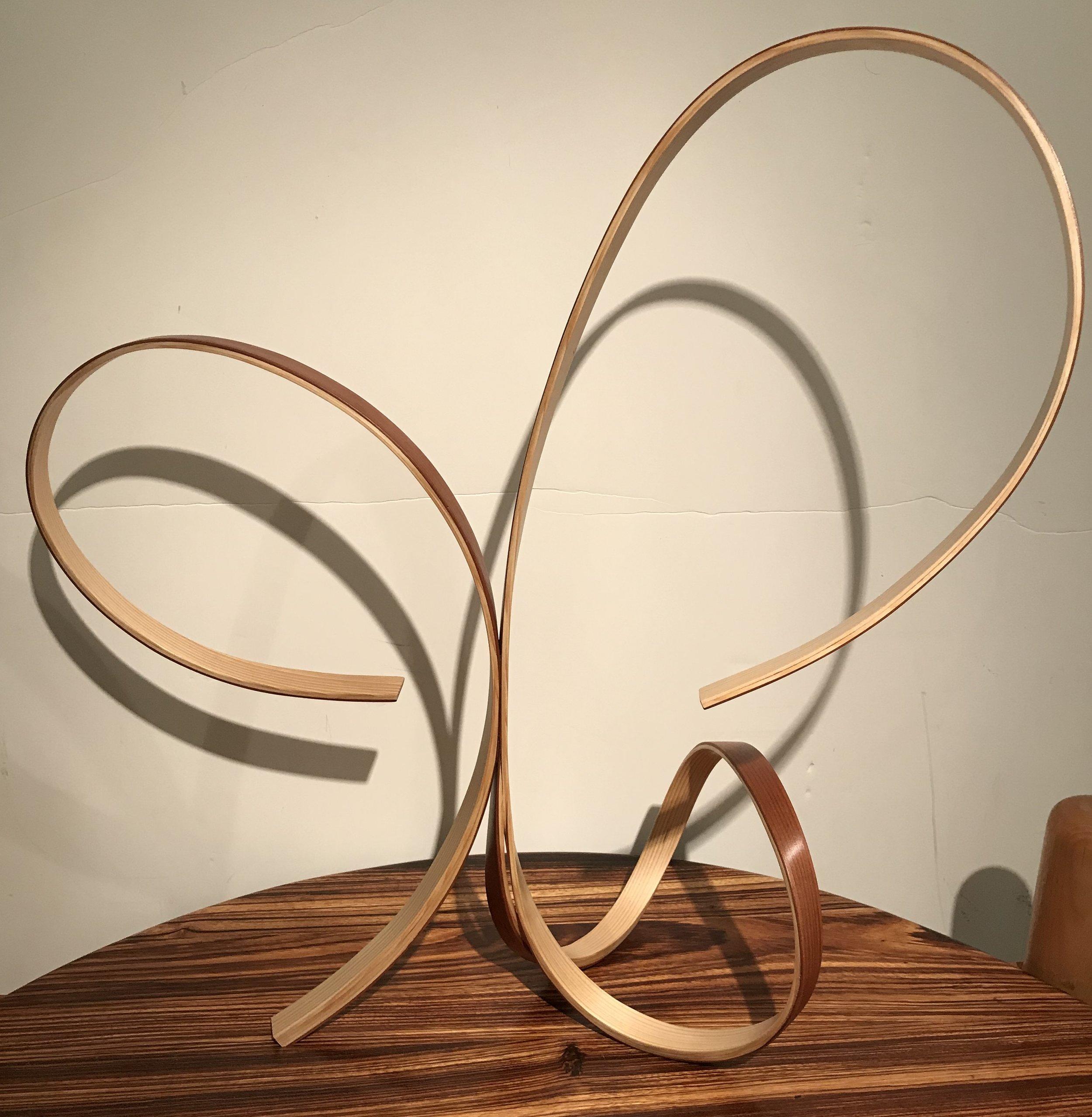 Zenith Gallery- Len Harris-Searching-2017-Pine and redwood-10h x 23 x 24 d- $1,500.jpg