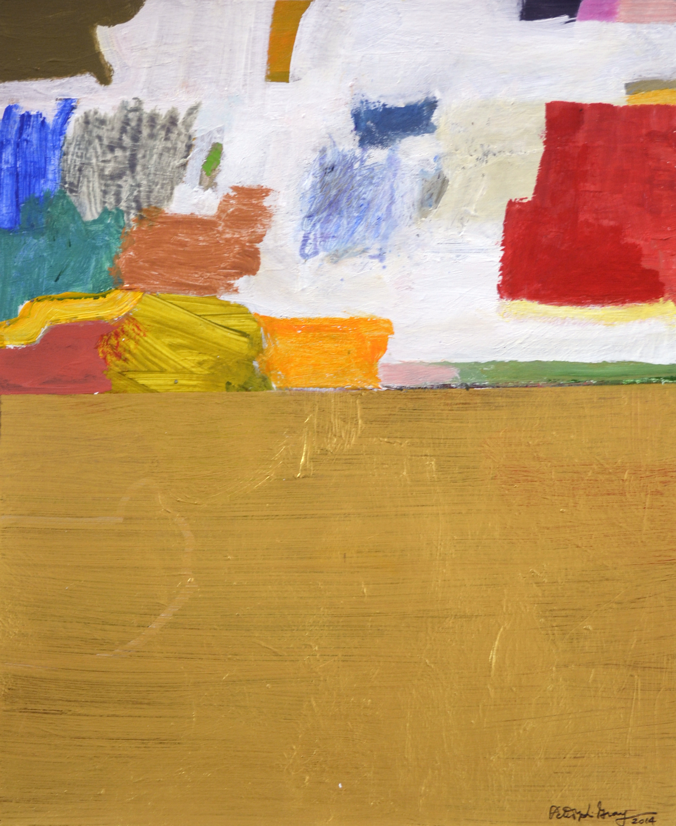 XOL Gallery - Peter Grey (USA) - _Fall Series III_ - 11 x 14 in - Acrylic on canvas paper - Baltimore, MD 2014 - $1,500.jpg
