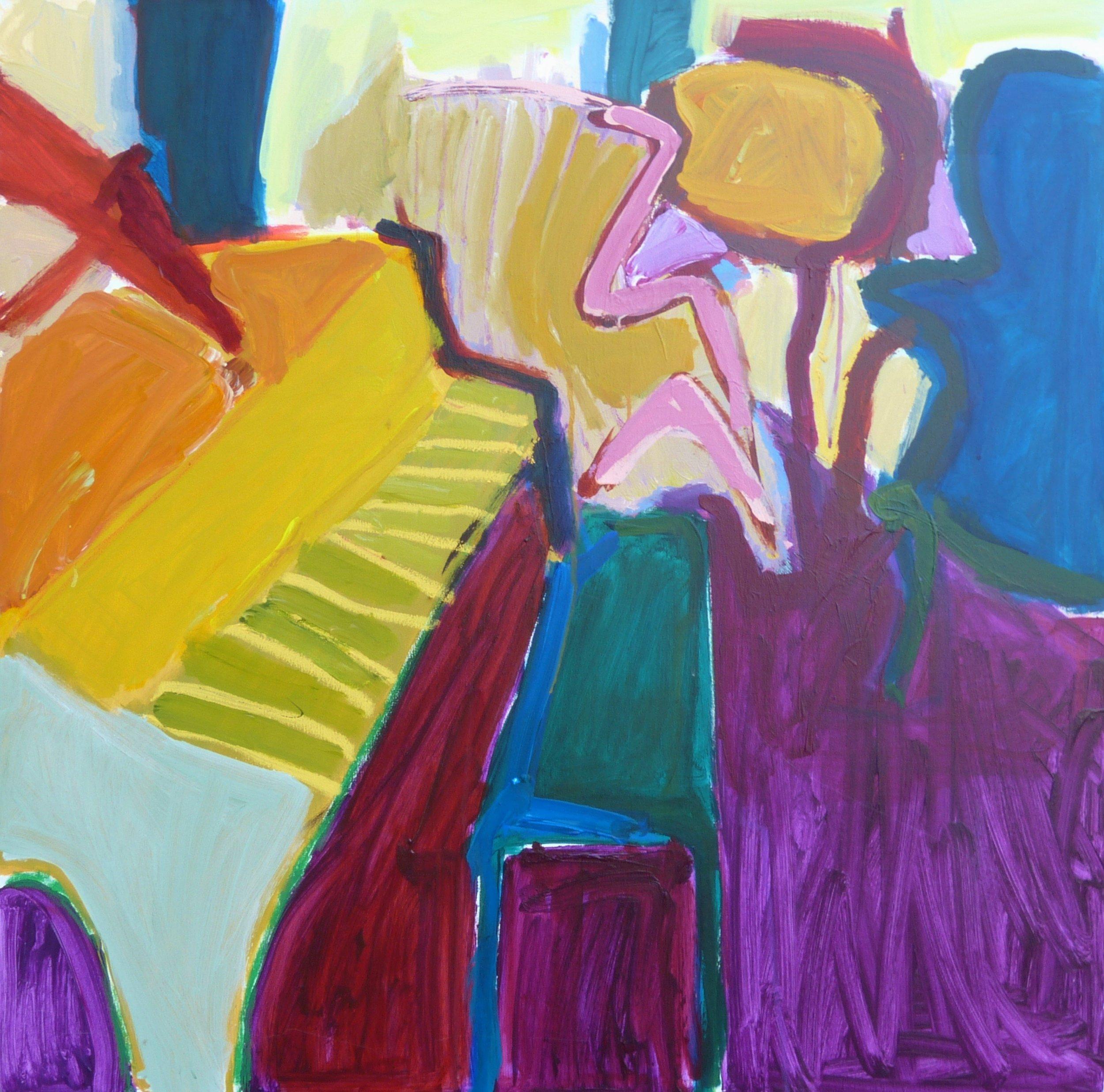 Linda Bankerd_Interior with Piano_2016_Acrylic on canvas_36_ x 36__$1050.jpg
