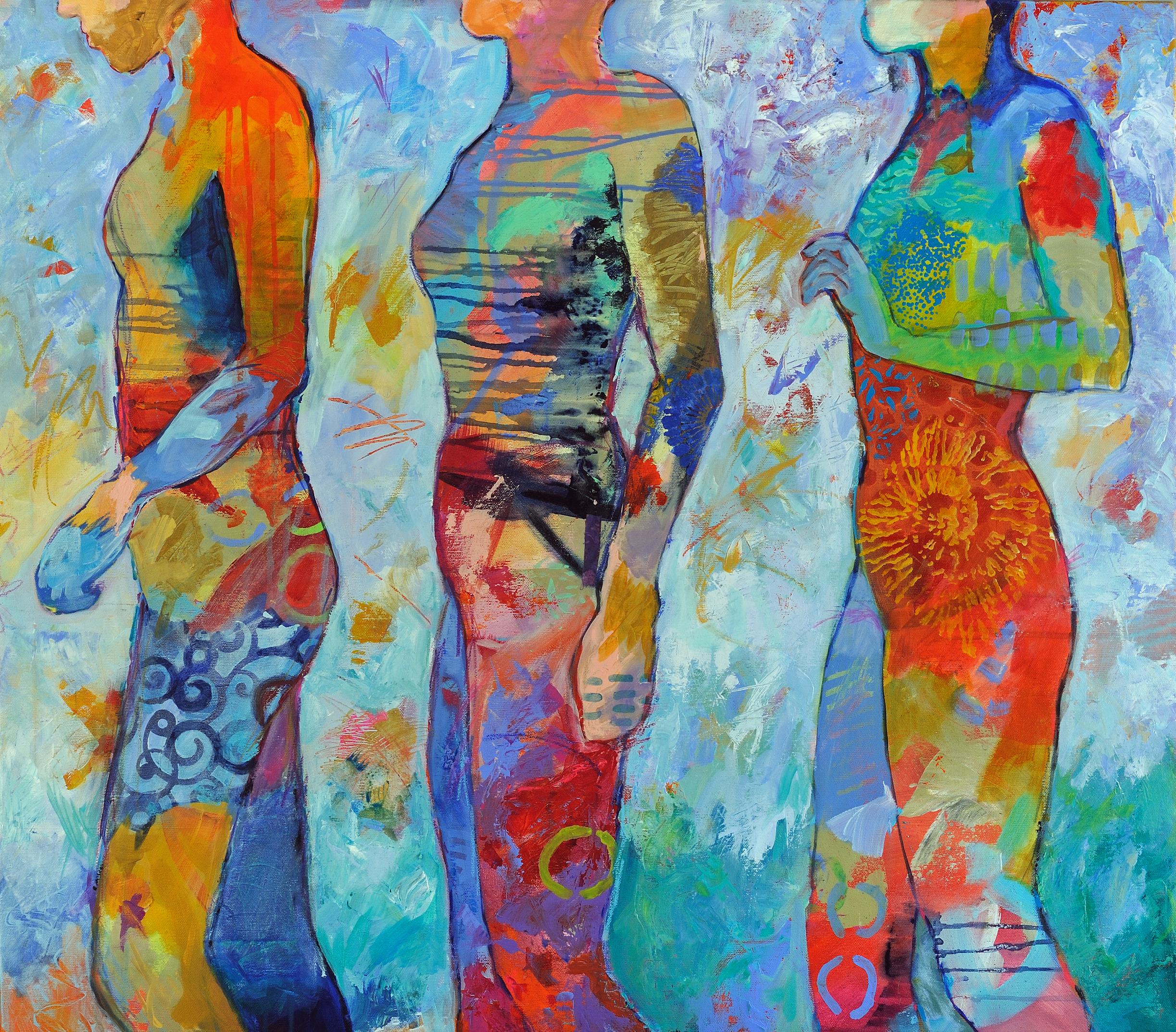 Rosa Vera_Passing Through_2018_Acrylic on canvas_30_ x 34__$1800.jpg