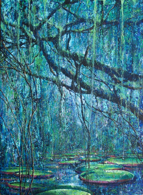 Art Village Gallery-Jorge Yances-_Amazon III_-30x40-Oil on Canvas-year-$4800.jpeg