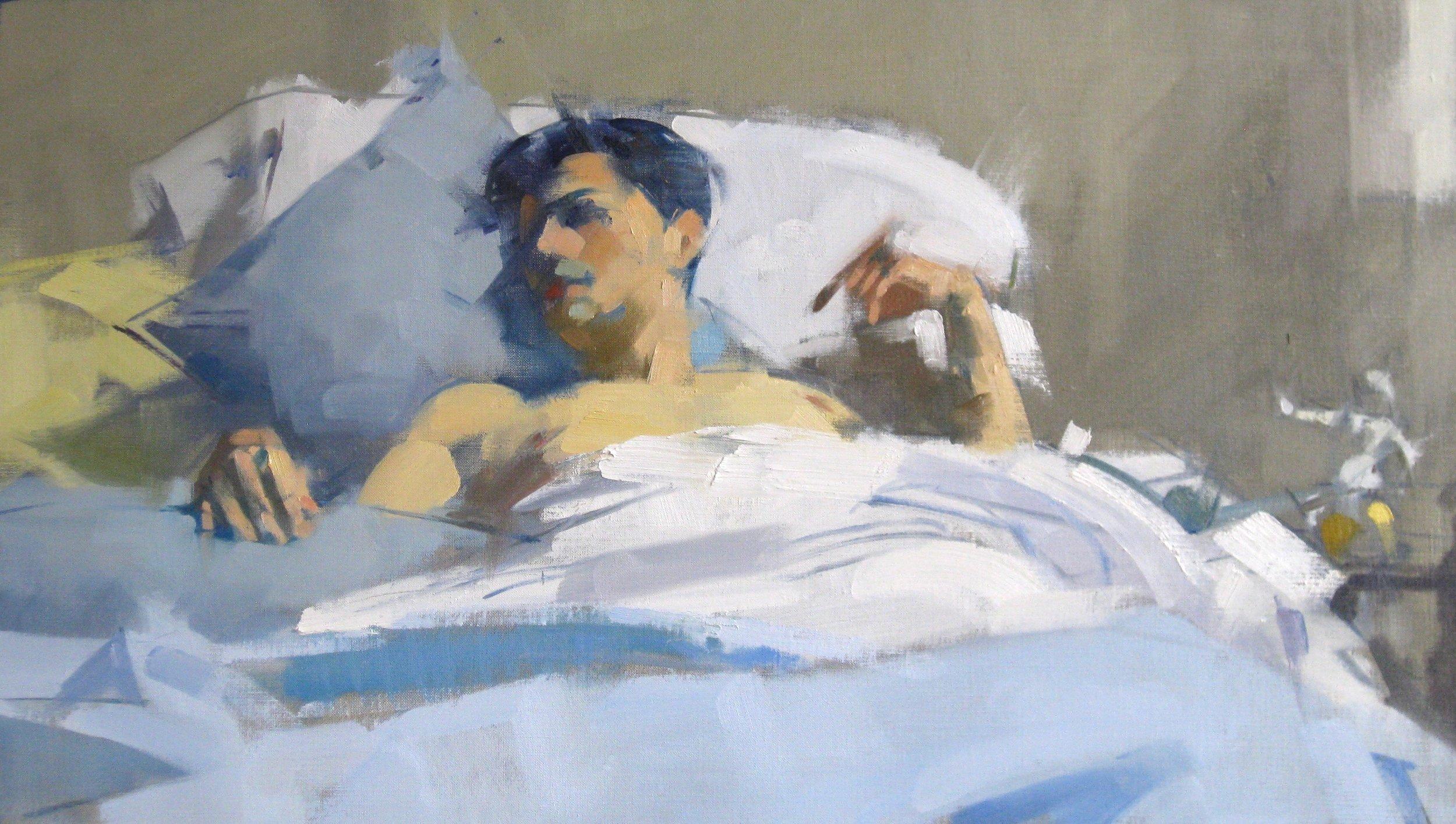 Susan Calloway Fine Arts-MaggieSiner-Sleeping Hands-Oil on Linen-16x28-5000.jpg