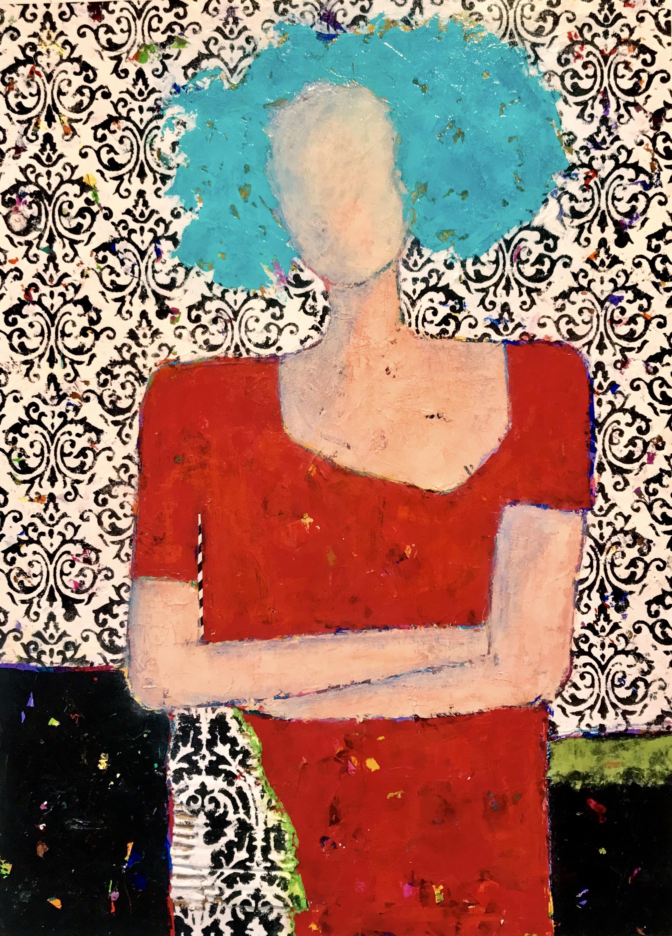 Foundry Gallery-Charlene Nield-Bexley-30x22-Acrylic with mixed media-2018-$1200.jpg