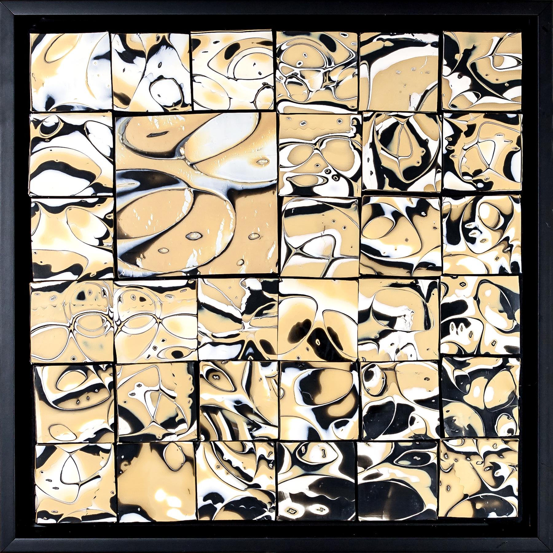 Foundry Gallery-Fran Abrams-Circular Logic 12x12 Polymer clay not painted-2017-$600.jpg