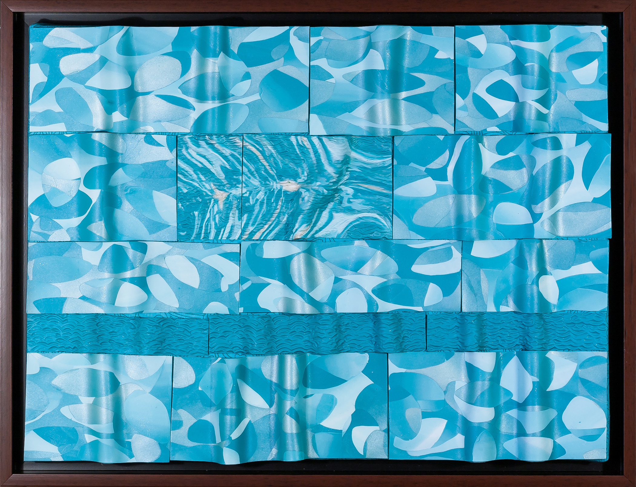 Foundry Gallery-Fran Abrams-Tropical Lagoon-12x16-Polymer clay not painted-2015-$875.jpg
