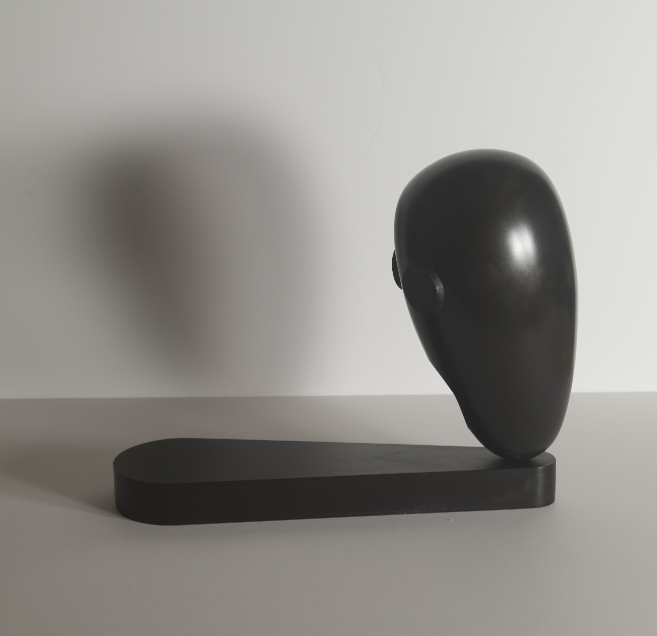 Monochrome Colletive : Gary Kret : Shadow : maple, black aniline dye paste, wax finish : 15.5 x 7.5 x 19.5 in. : $3,200.jpg