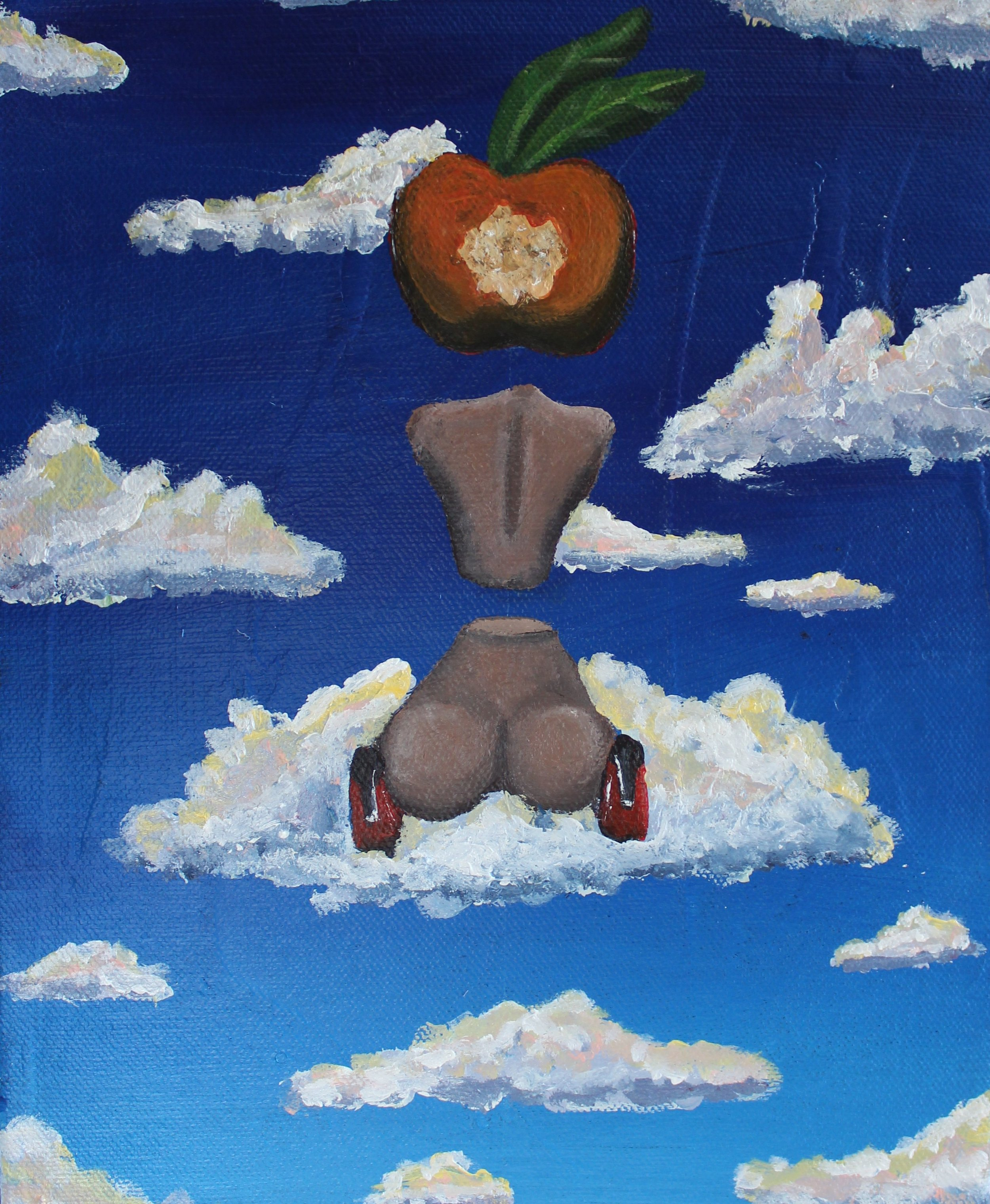 Abi Salami -Designer Whores III - Acrylic on canvas - 10H 8W 1.5D- 2018 - $250.jpg.jpg
