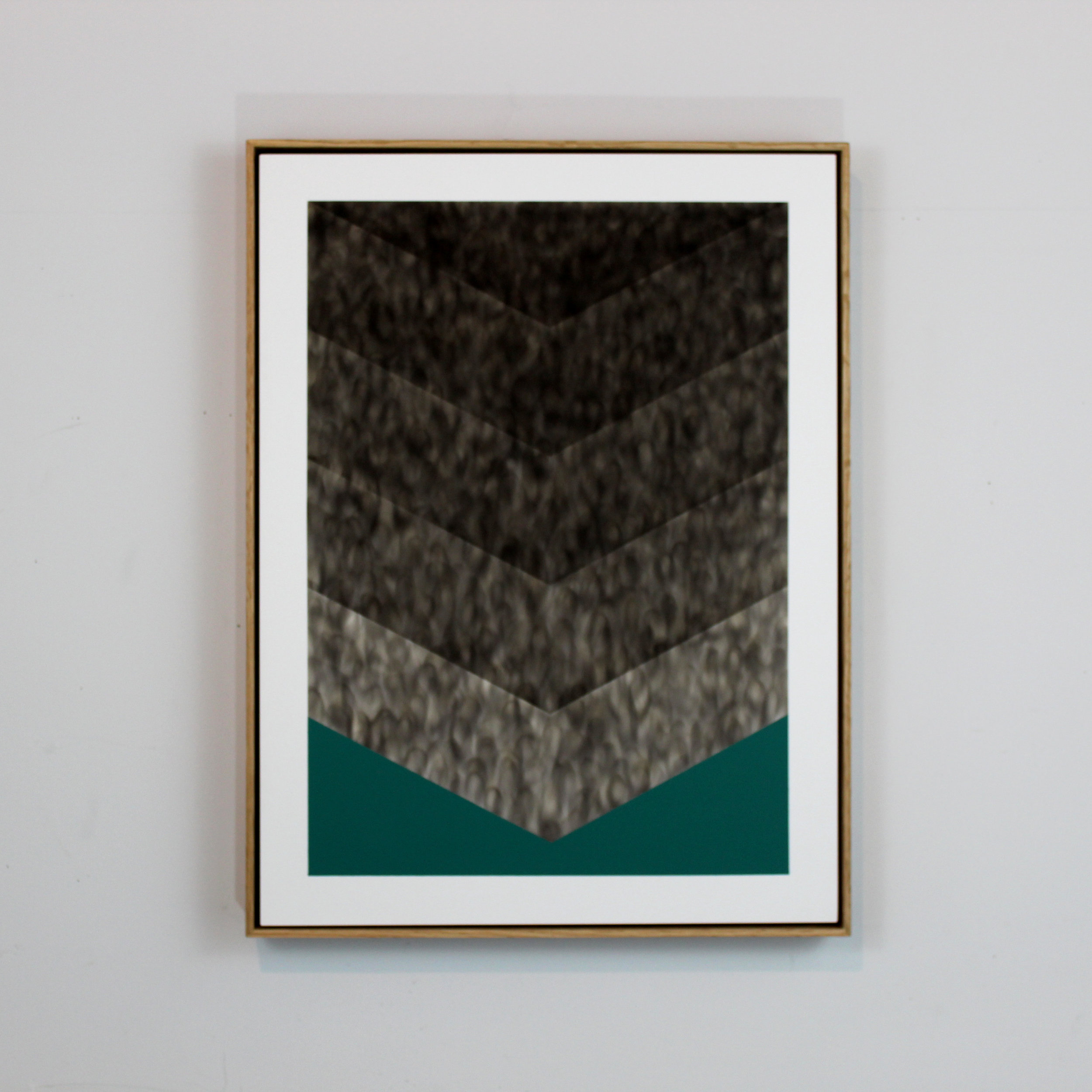 Evan Ishmael - A Short Strecher Made With Two Rifles- Soot on Panel - 18_x24_ - 2018 - $700.jpg