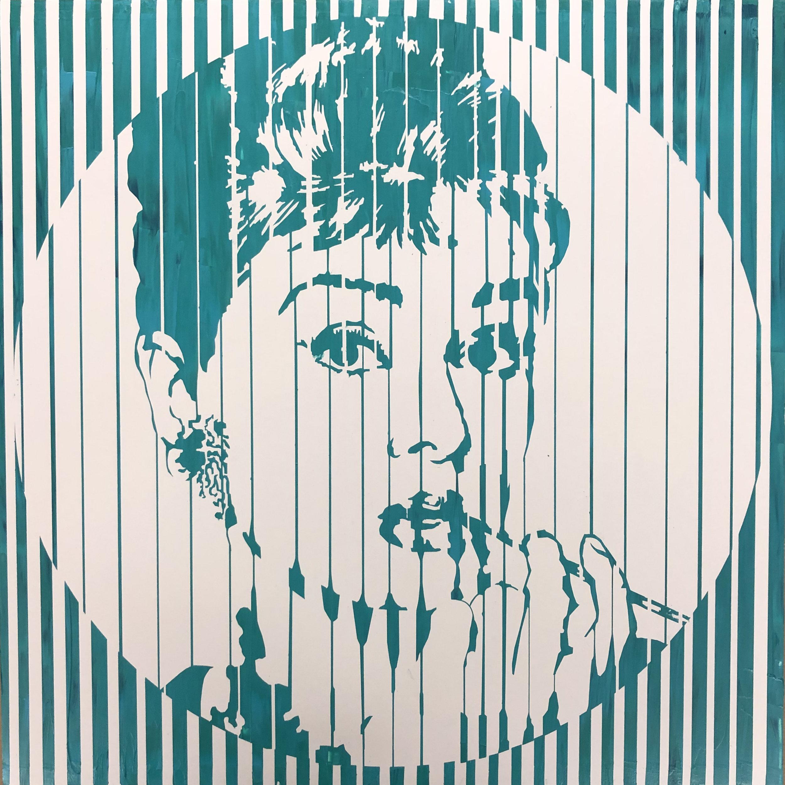 Sean Christopher Ward - Audrey IX - Acrylic on Wood Panel - 16x16x1.5 - 2018 - 500.jpg