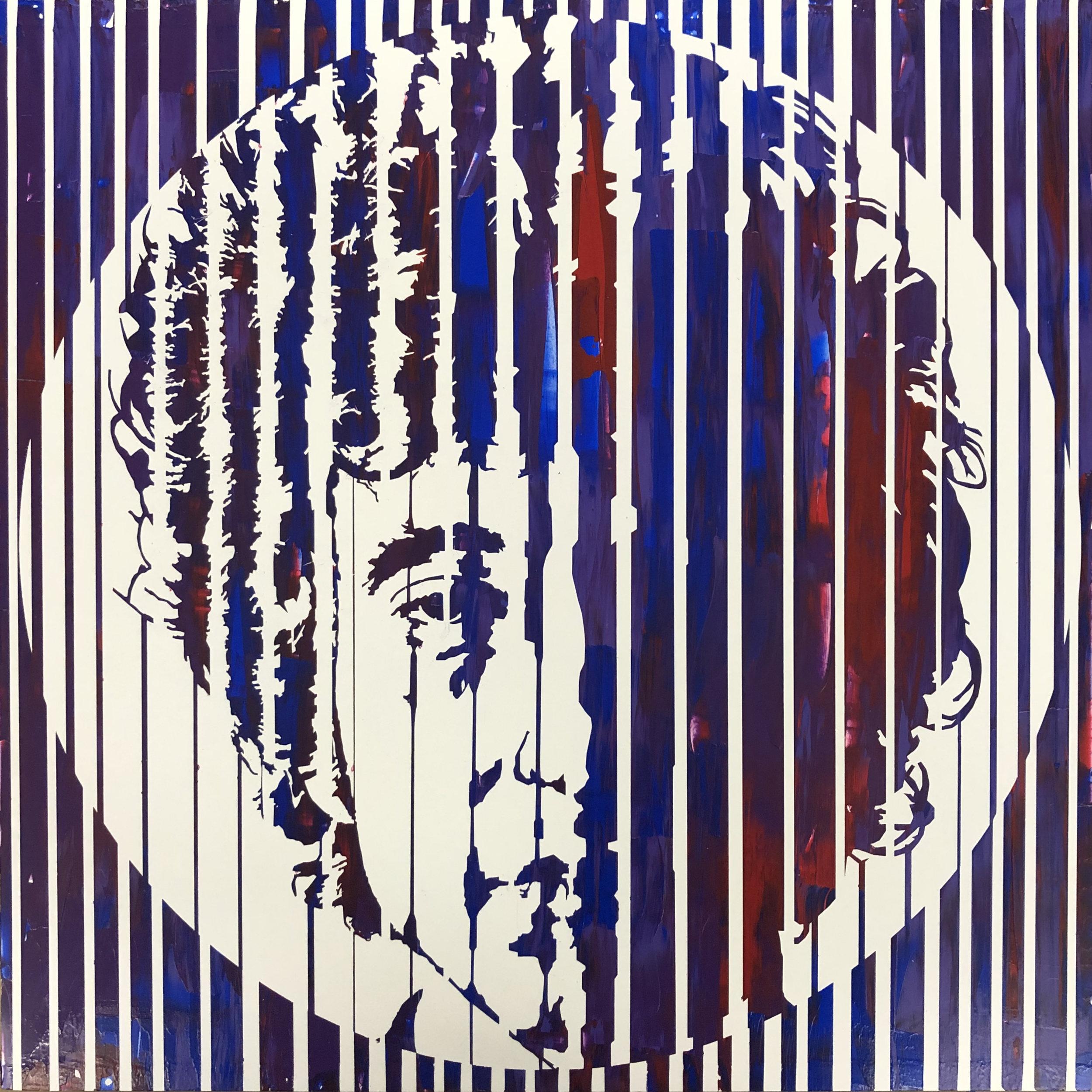 Sean Christopher Ward - Dylan VI - Acrylic on Wood Panel - 16x16x1.5 - 2018 - 500.jpg