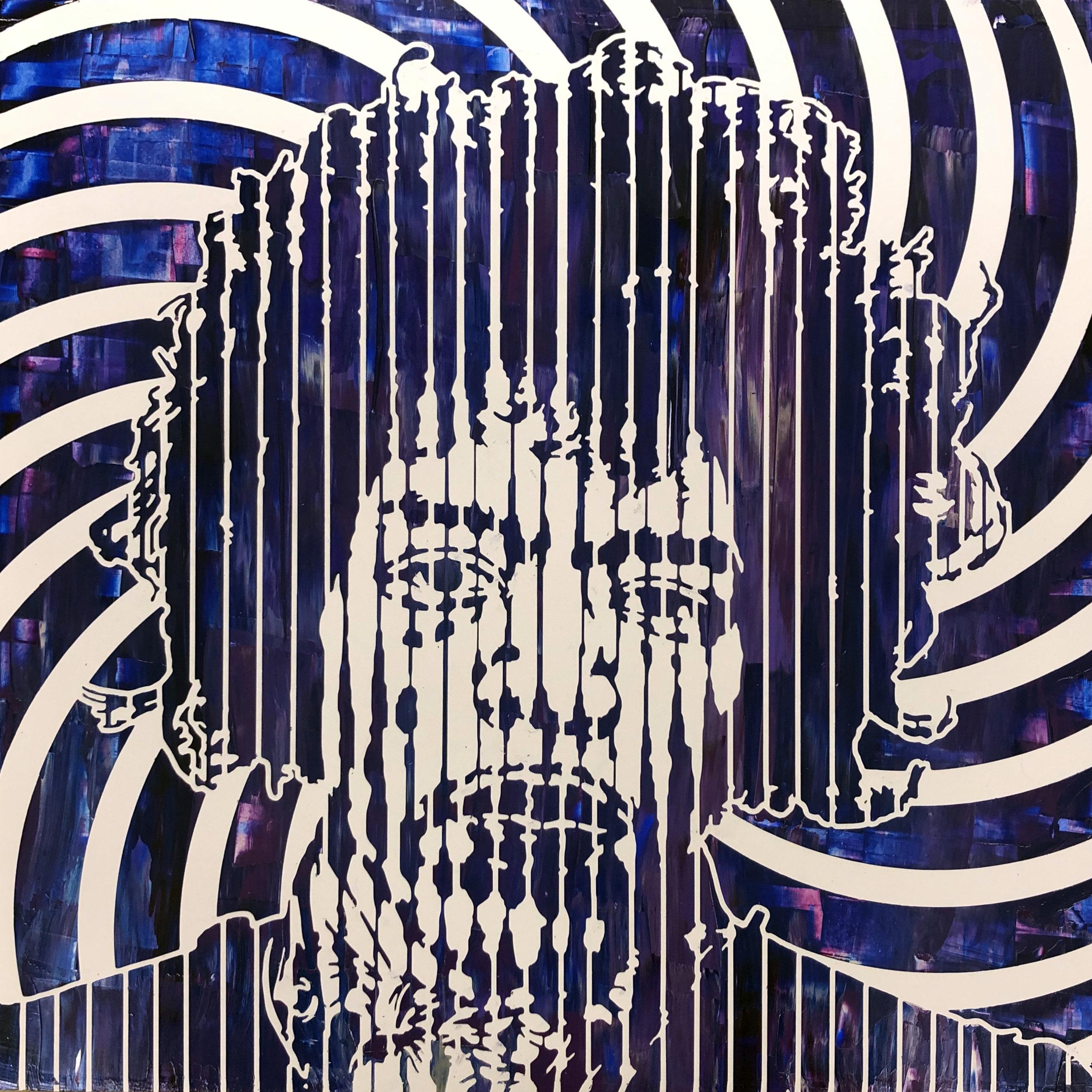 Sean Christopher Ward - Jimi V - Acrylic on Wood Panel - 16x16x1.5 - 2018 - 500.jpg
