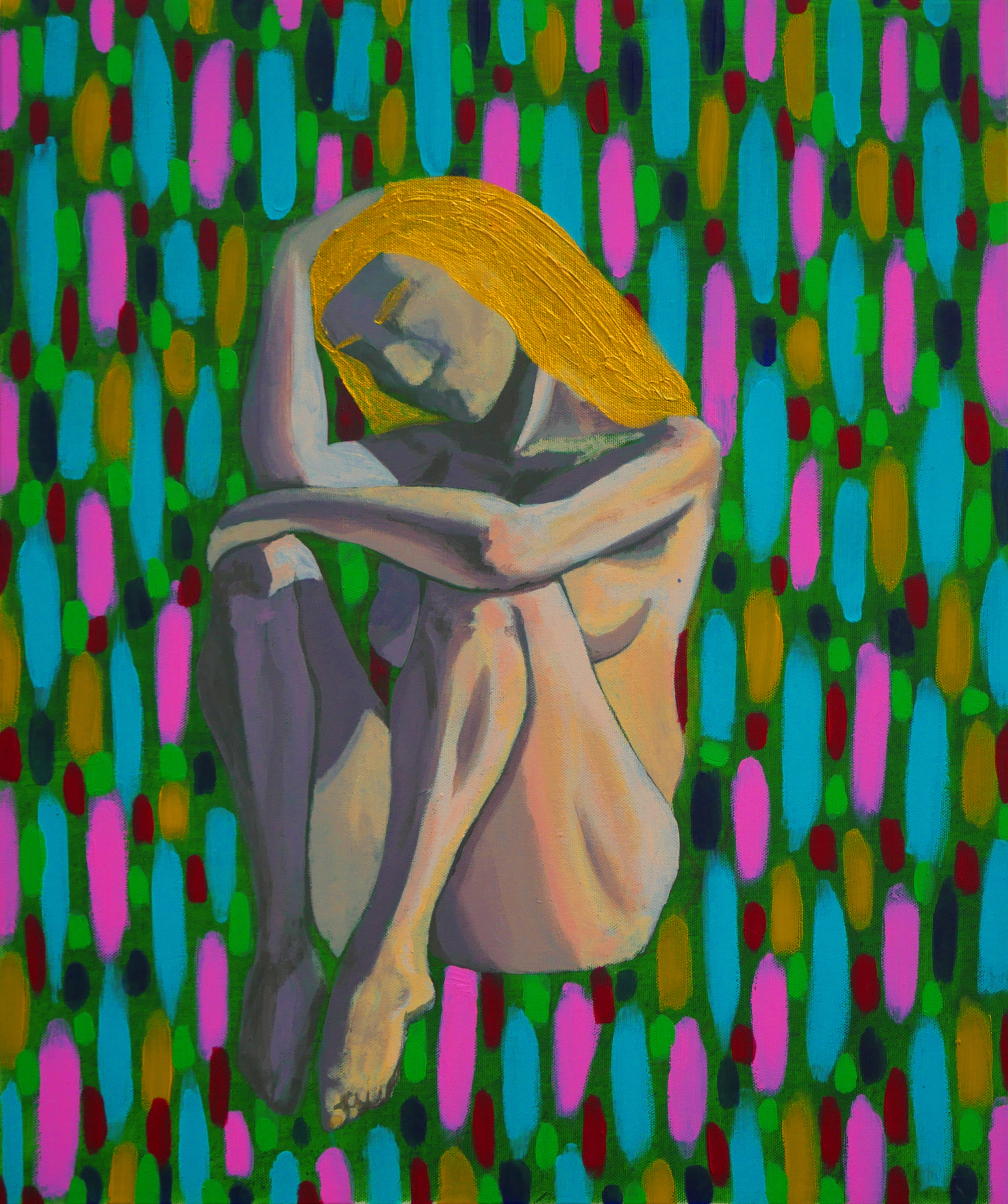 Joaquin Alonso- Naked woman- Acrylic on canvas- 20x16- 2018- $1000.jpg