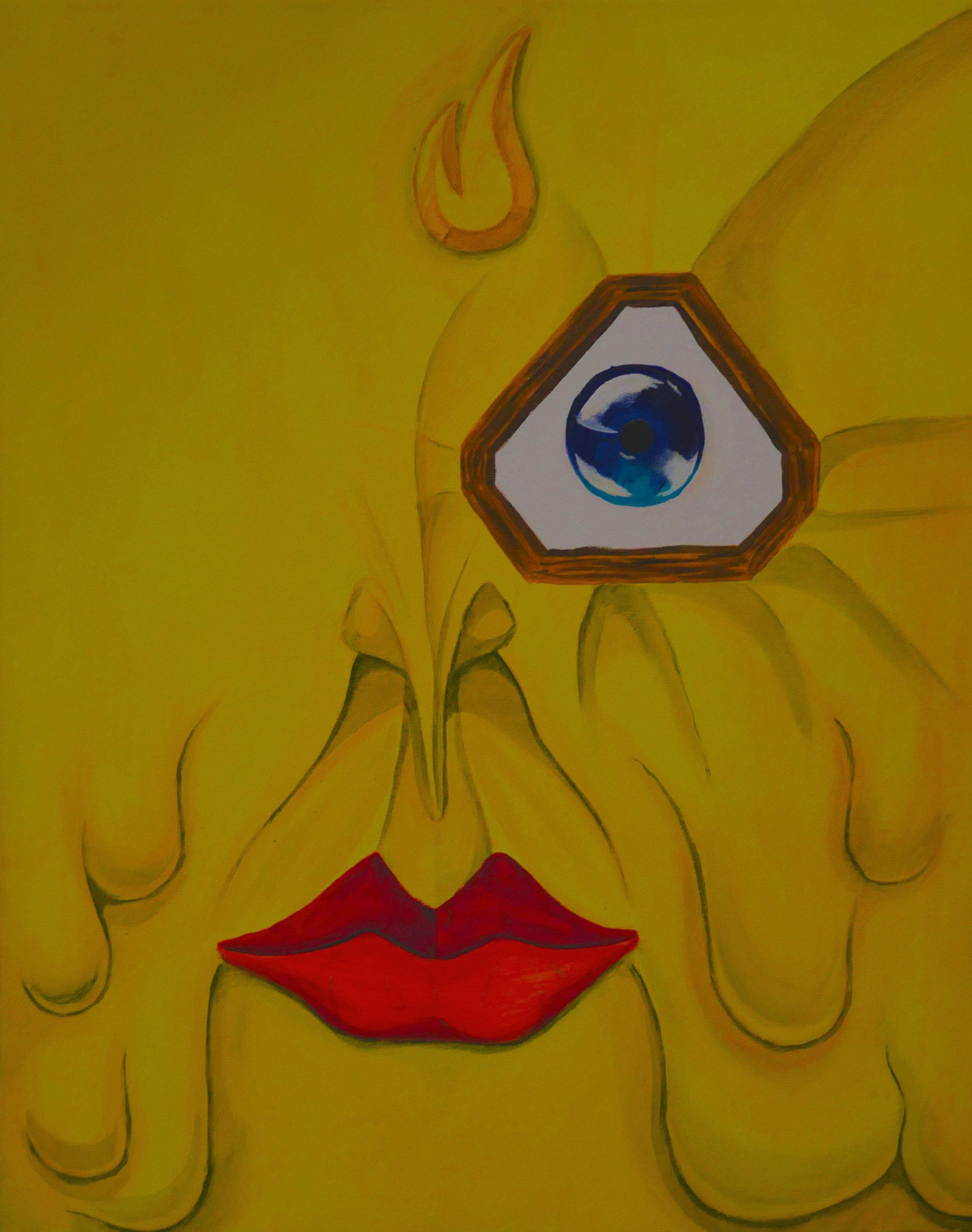joaquin alonso- yellow face- acrylic on canvas- 20x16- 2018- $1000.jpg