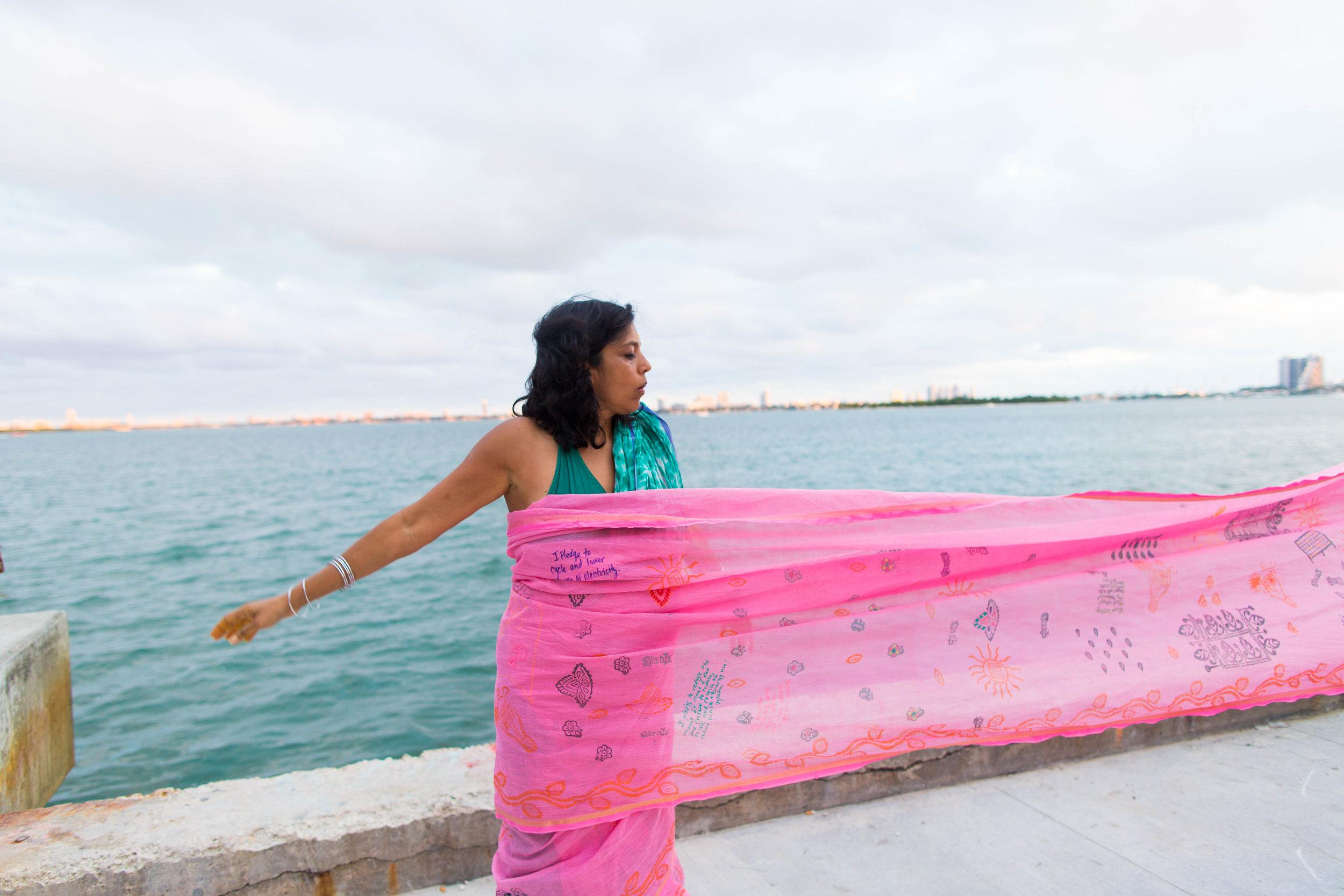 Monica Jahan Bose performing at Superfine! Miami 2016.jpg
