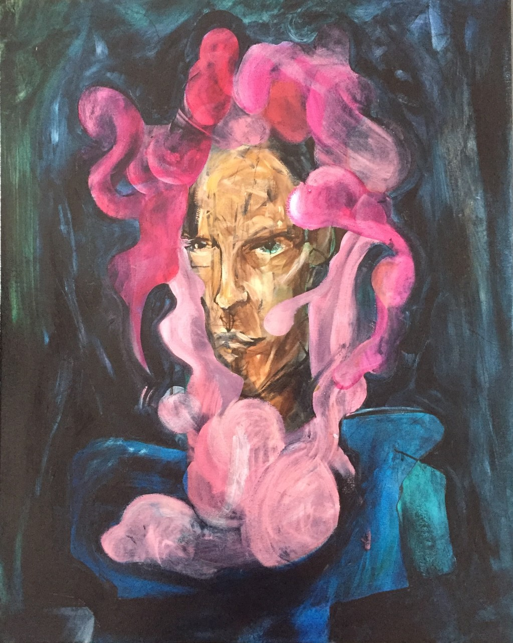 Feconded man _oil on canvas_ 24x30 inch  2018 1100 doll.jpg