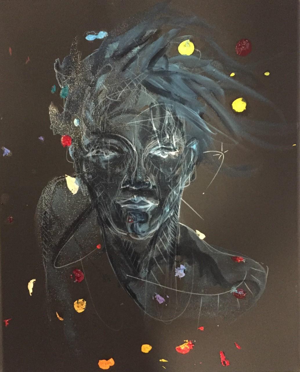 Human 2078 .posca_acryl oil on canvas 16x20 in 2018 _ 500 doll .jpg