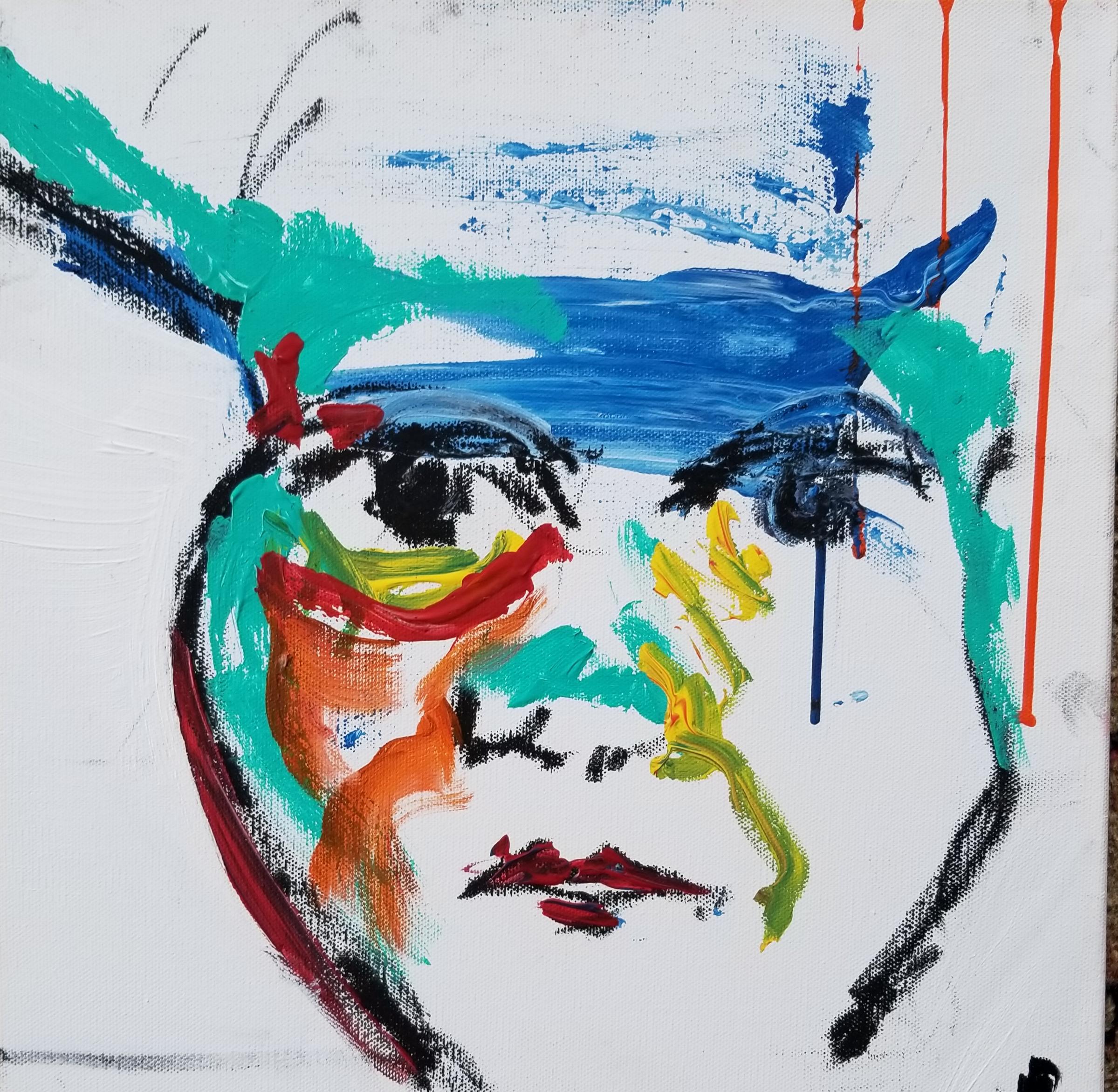 A.R.DREWART Stiches Oilstick,ink, acrylic,canvas 2017 Price375.jpg