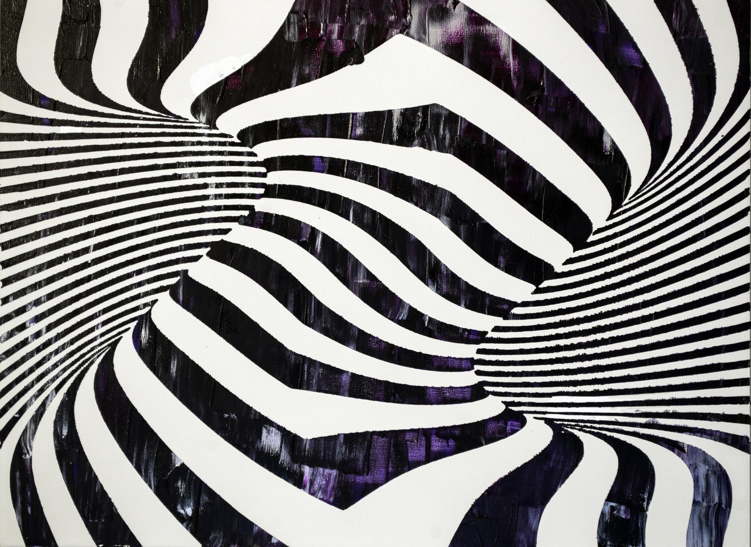 HUE Gallery of Contemporary Art - Sean Christopher Ward - Burton_s Tornado - Acrylic on MDF - 12x16 - 2019 - $375.jpg