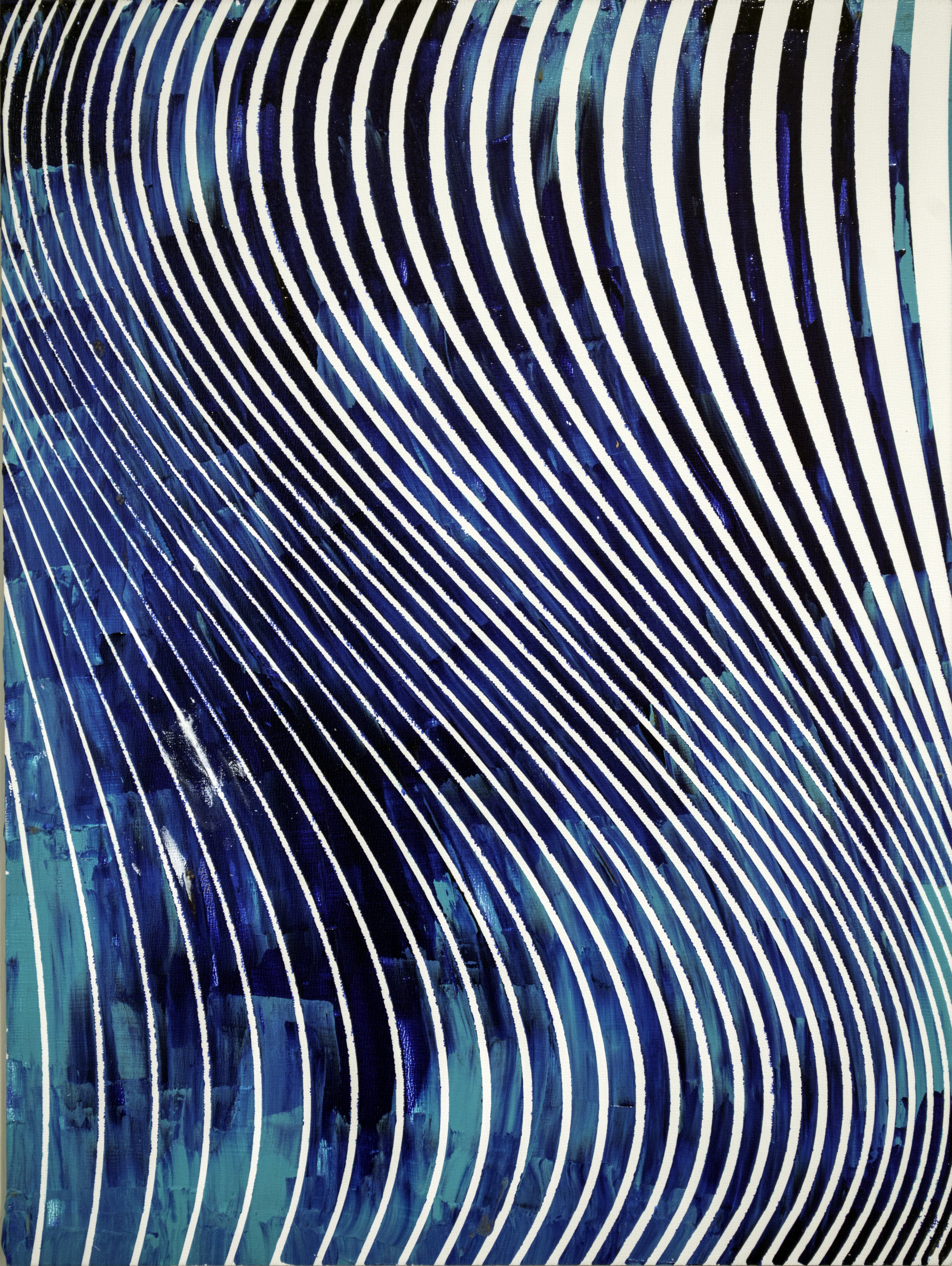 HUE Gallery of Contemporary Art - Sean Christopher Ward - The Oceanic Current - Acrylic on MDF - 12x16 - 2019 - $375.jpg