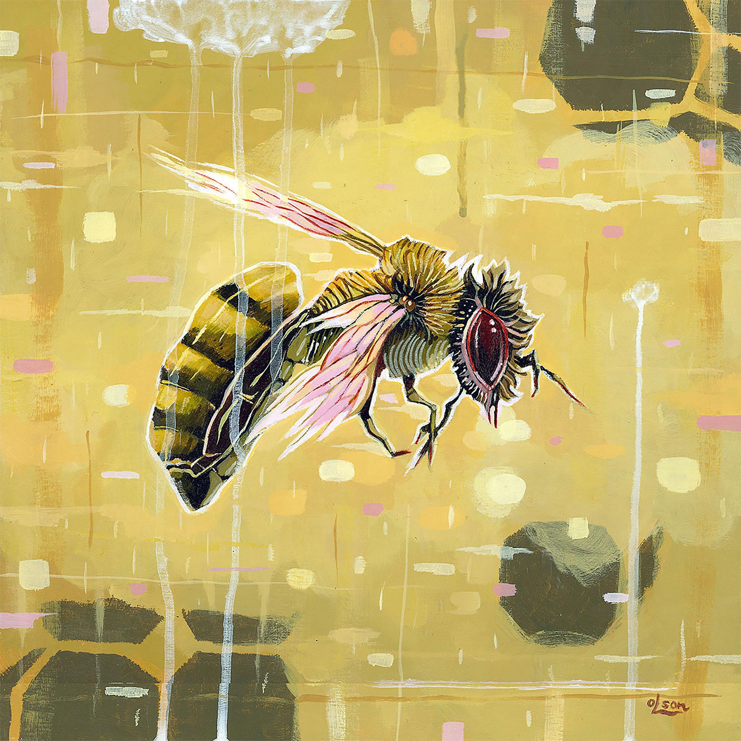 Christopher Olson-Floating thorough a Digital World-Acrylic-12x12in-2017-$1200.00.jpg