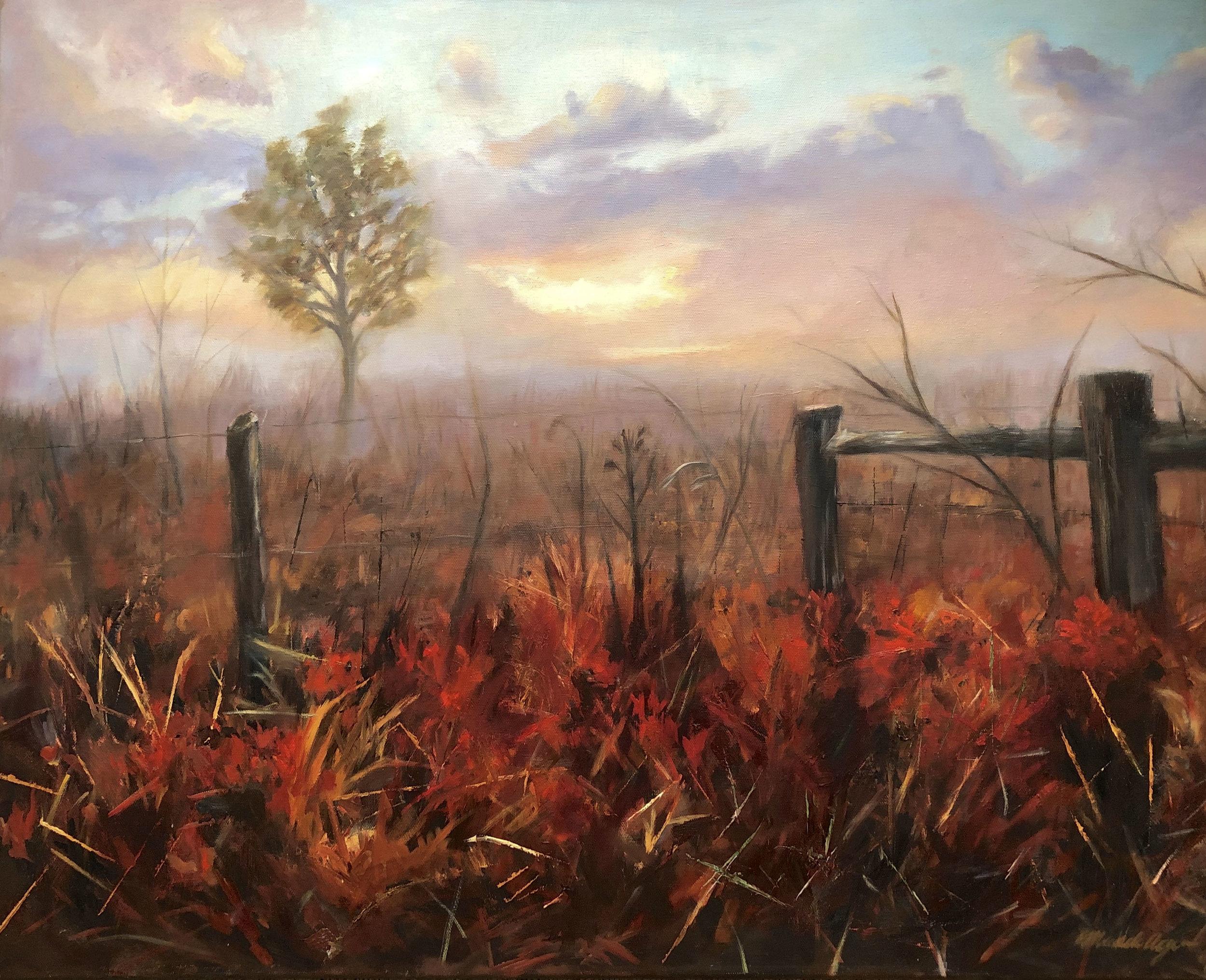 MicaelaAguirre-_Red Sunrise_-Oil-24x30-2018-$1400.jpg