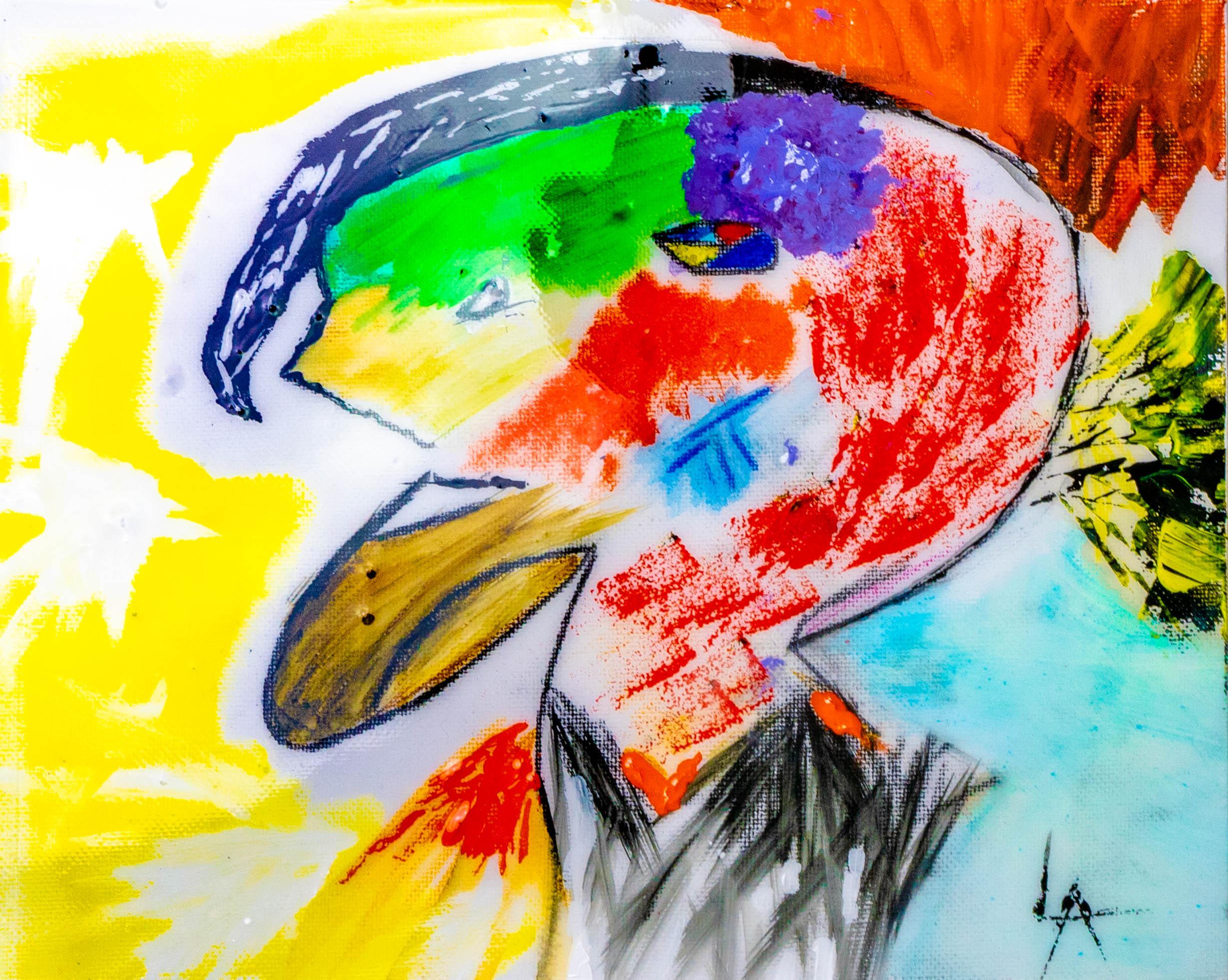 Louis Angel__Heart You__8_x10_ Canvas_Watercolors_Acrylic_Resin_2019 _$250.jpg
