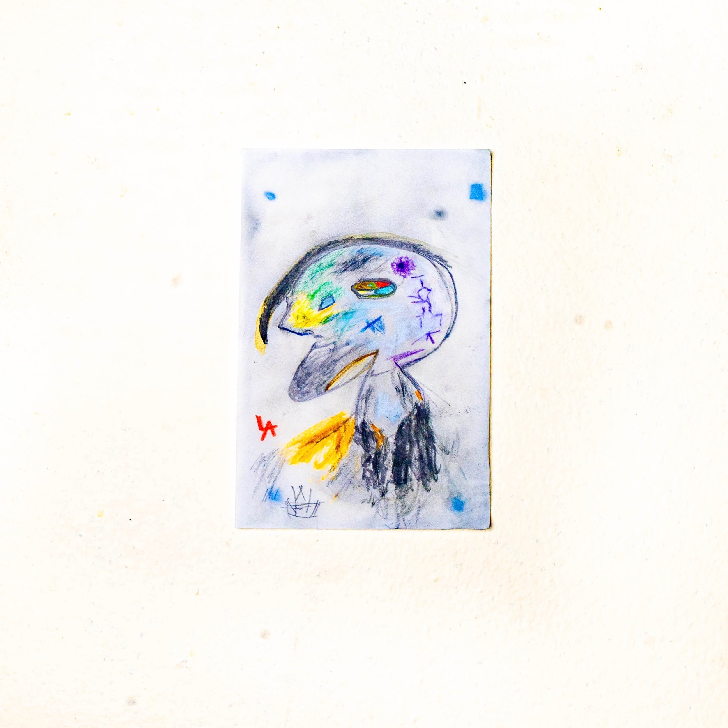 Louis Angel__Tiny Tim__4_x_6 Cotton Paper_Watercolors_2019_$75.jpeg
