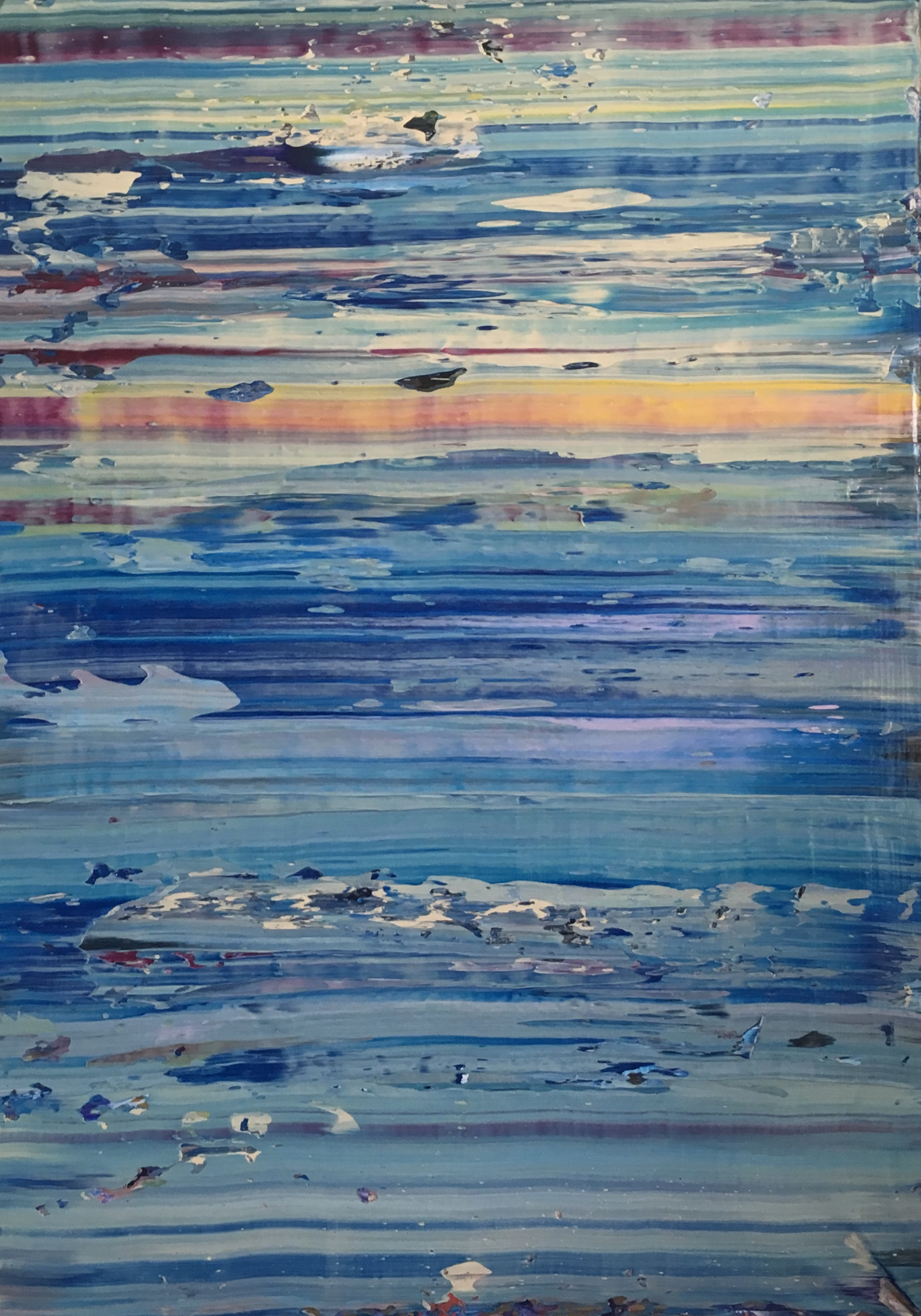 Evelina Cole-Blue Lagoon-Acrylic on canvas-2018-H55 x W35-4,000.jpg