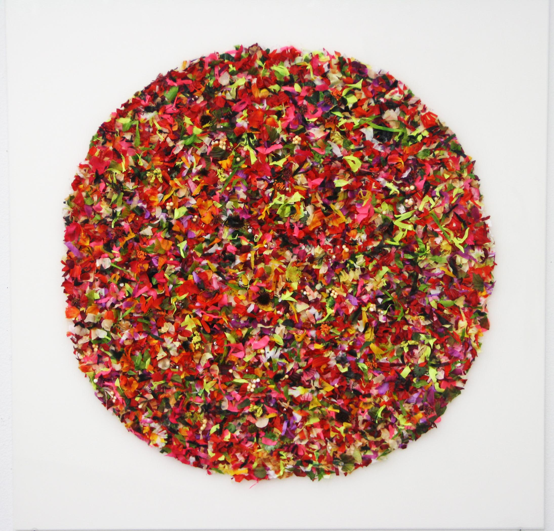 Breslaw, Circle Garden - Joy,mixed media 36_x36_,2017, $2695.jpg