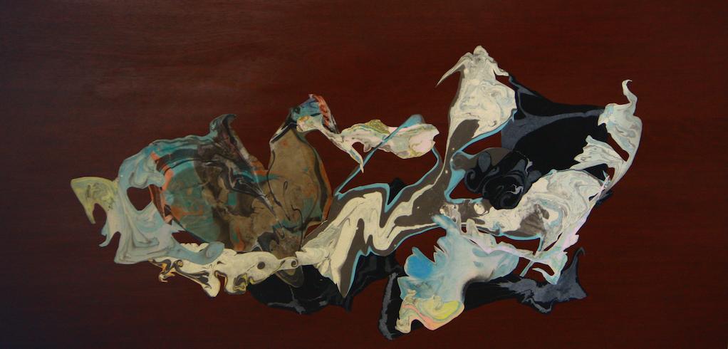 Breslaw,Mind Shift,collage,fabric on wood veneer,24_x49_,2014,$2395.jpg
